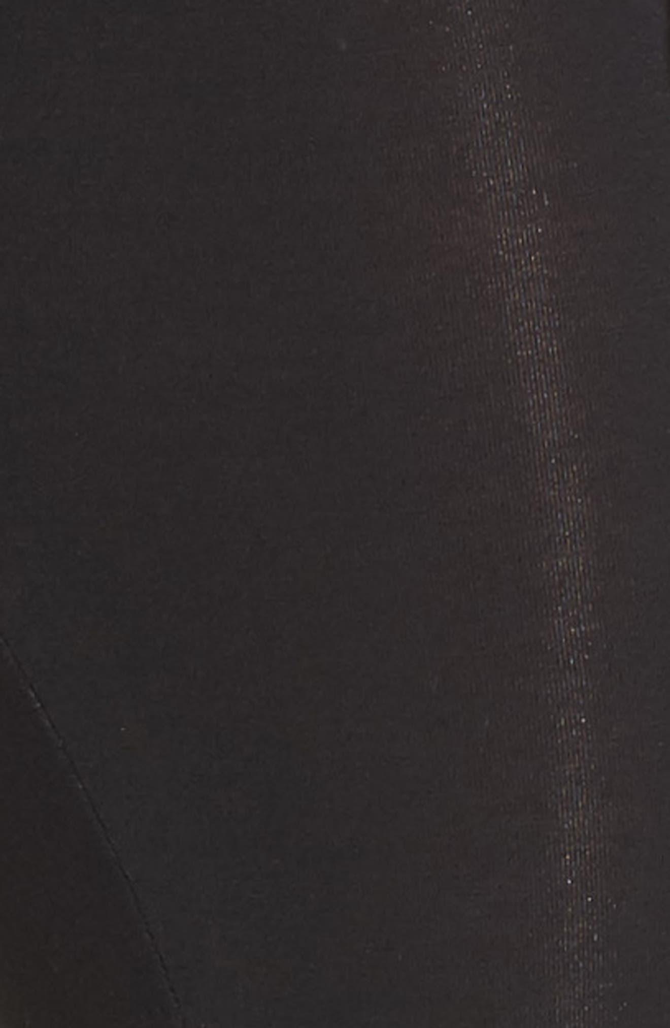Alternate Image 5  - LAB40 Foldover Waistband Maternity Leggings
