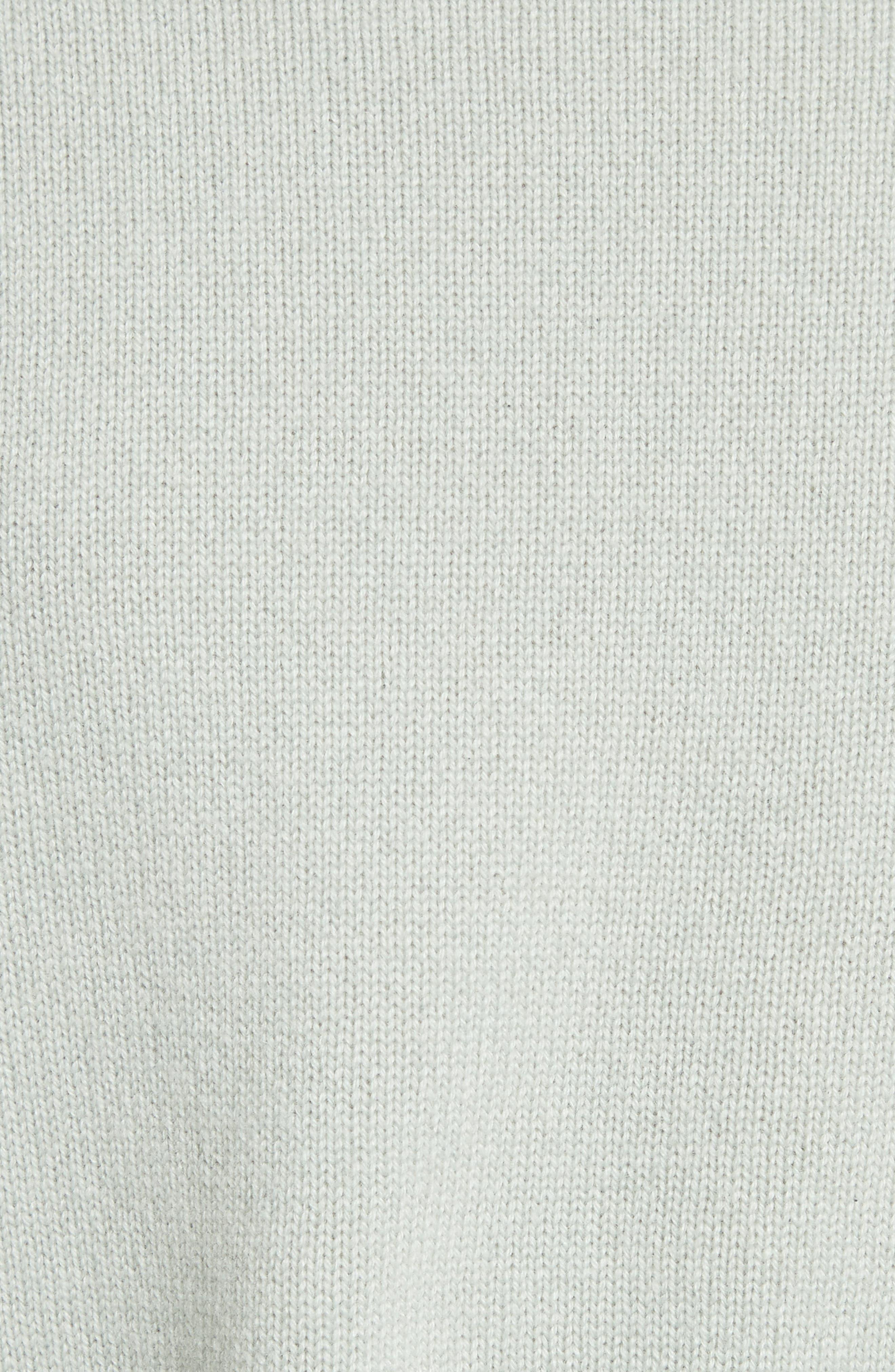 Boat Neck Cashmere Sweater,                             Alternate thumbnail 5, color,                             Light Winter Green