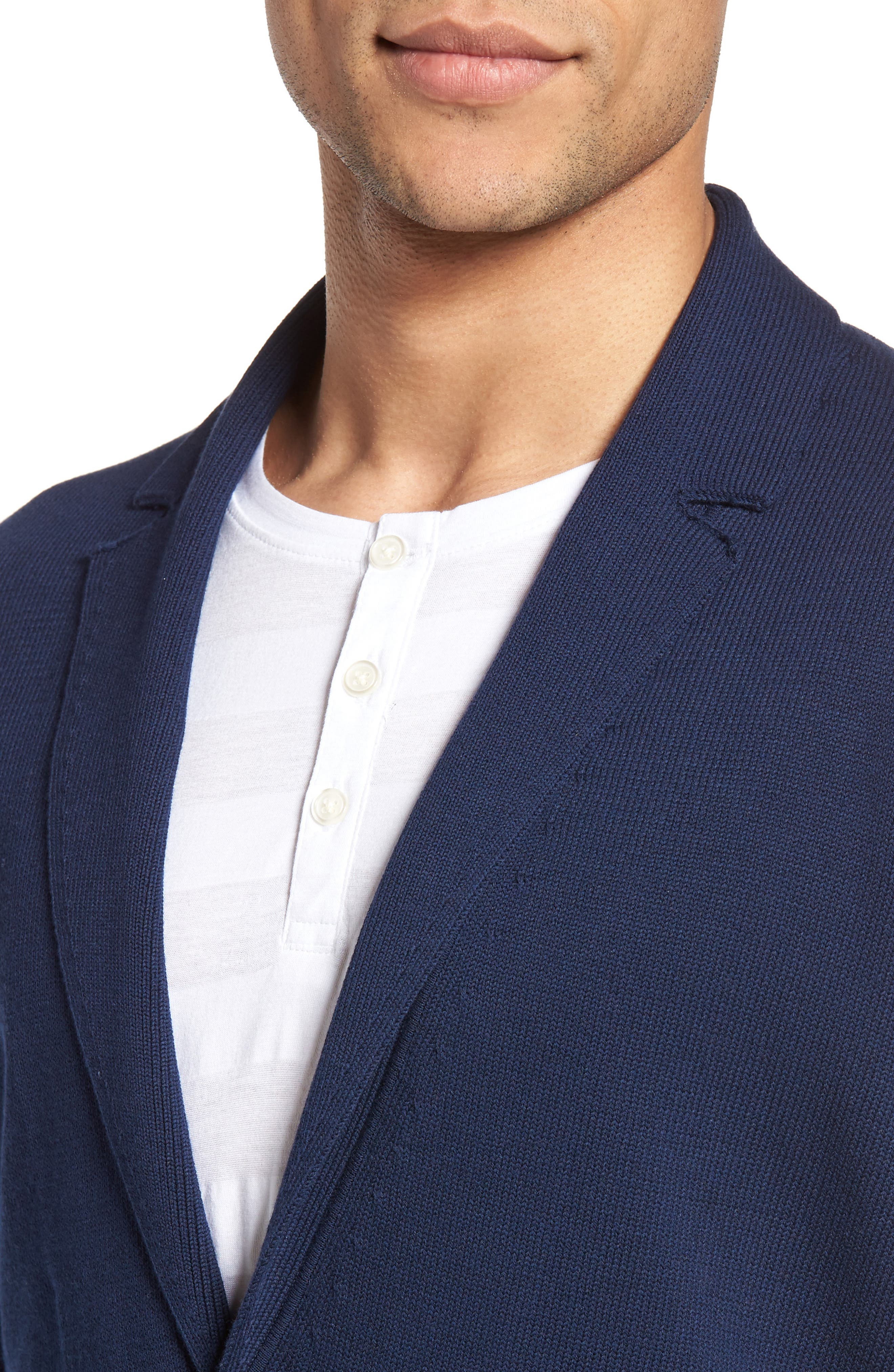 Alternate Image 4  - Zachary Prell Alipinia Notch Collar Cardigan