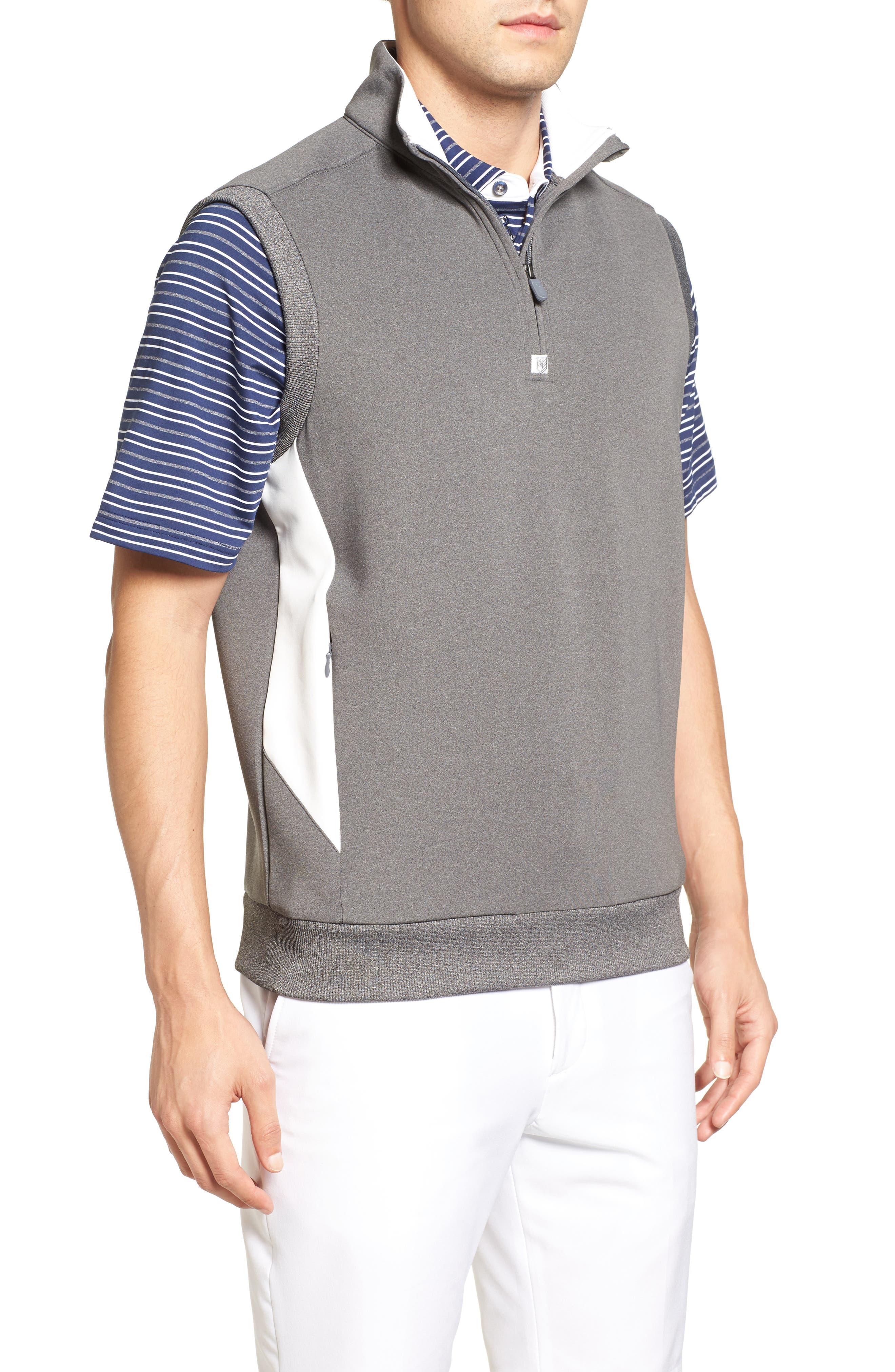 Alternate Image 3  - Bobby Jones Rule 18 Tech Quarter Zip Vest