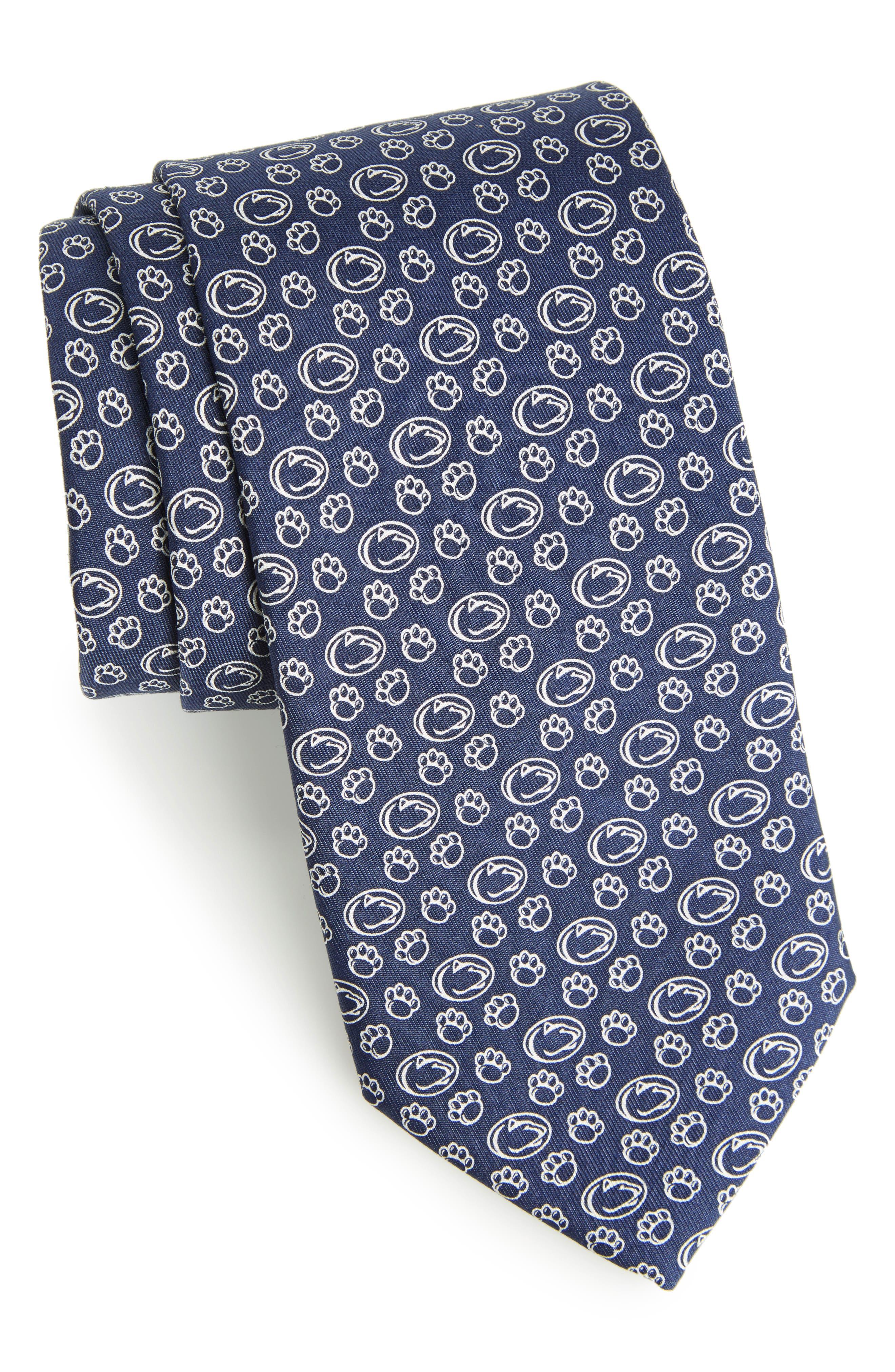 Penn State University Silk Tie,                         Main,                         color, Navy