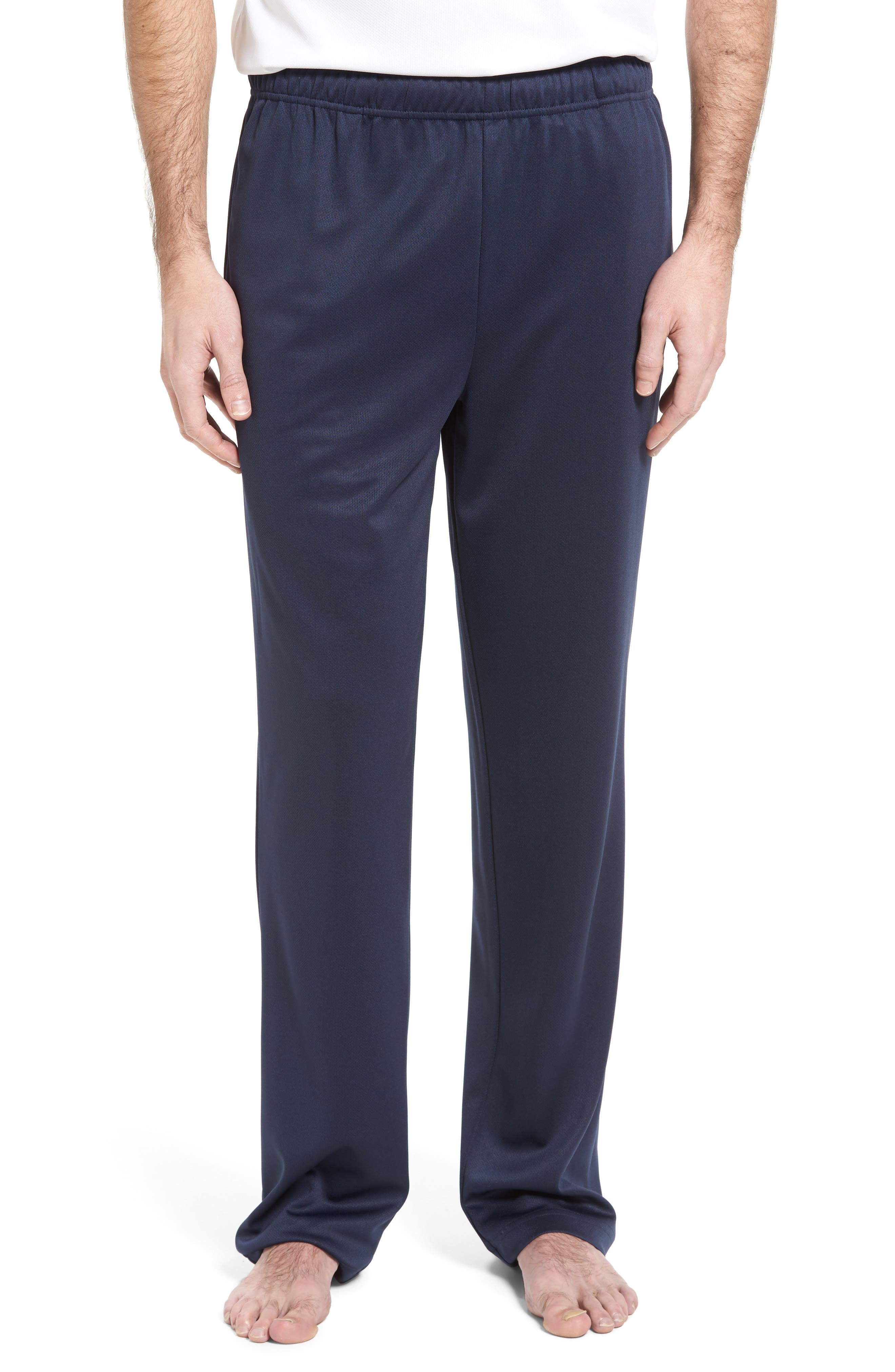 Work Out Lounge Pants,                         Main,                         color, Navy