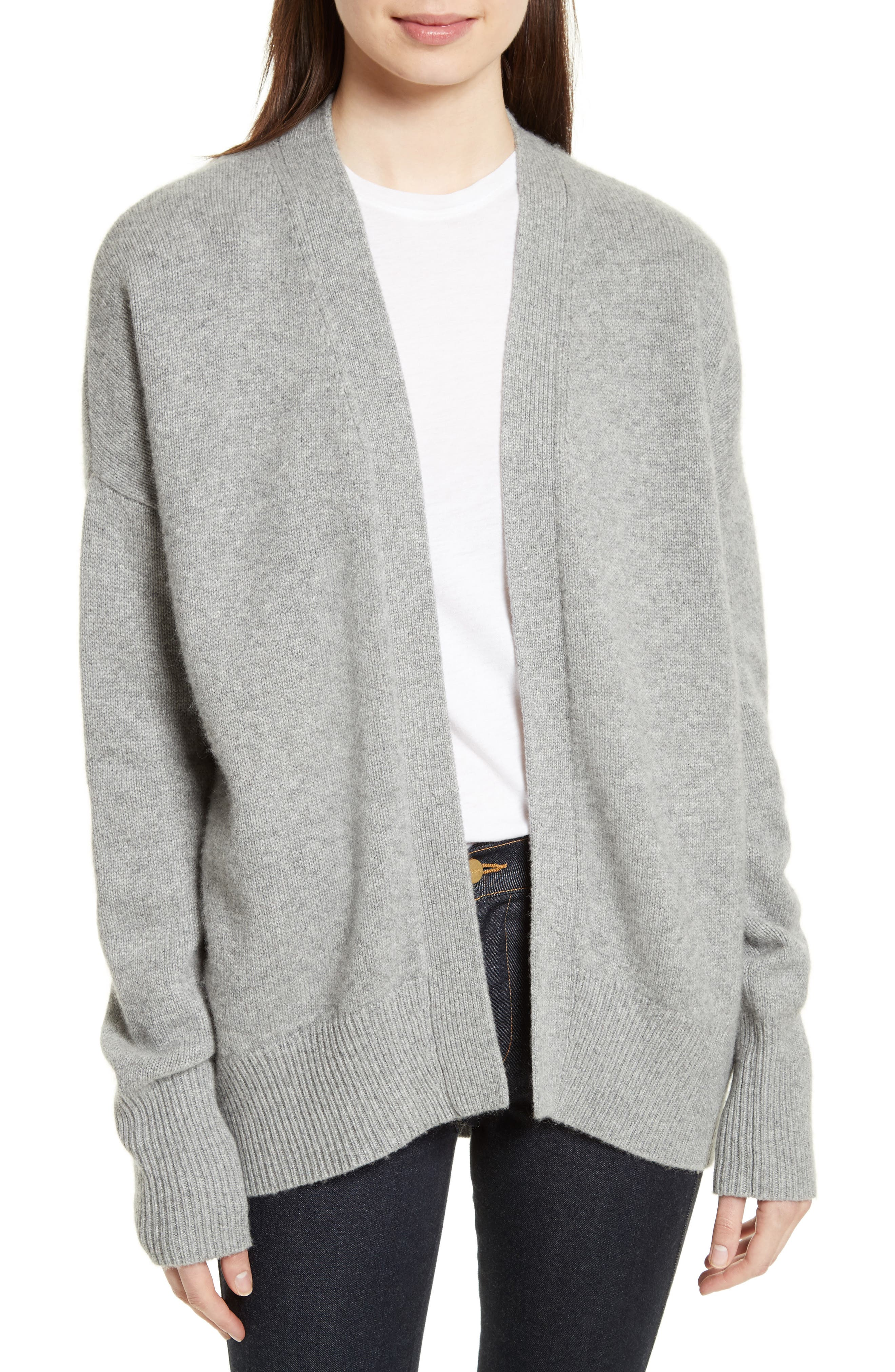 THEORY Oversize Cashmere Cardigan