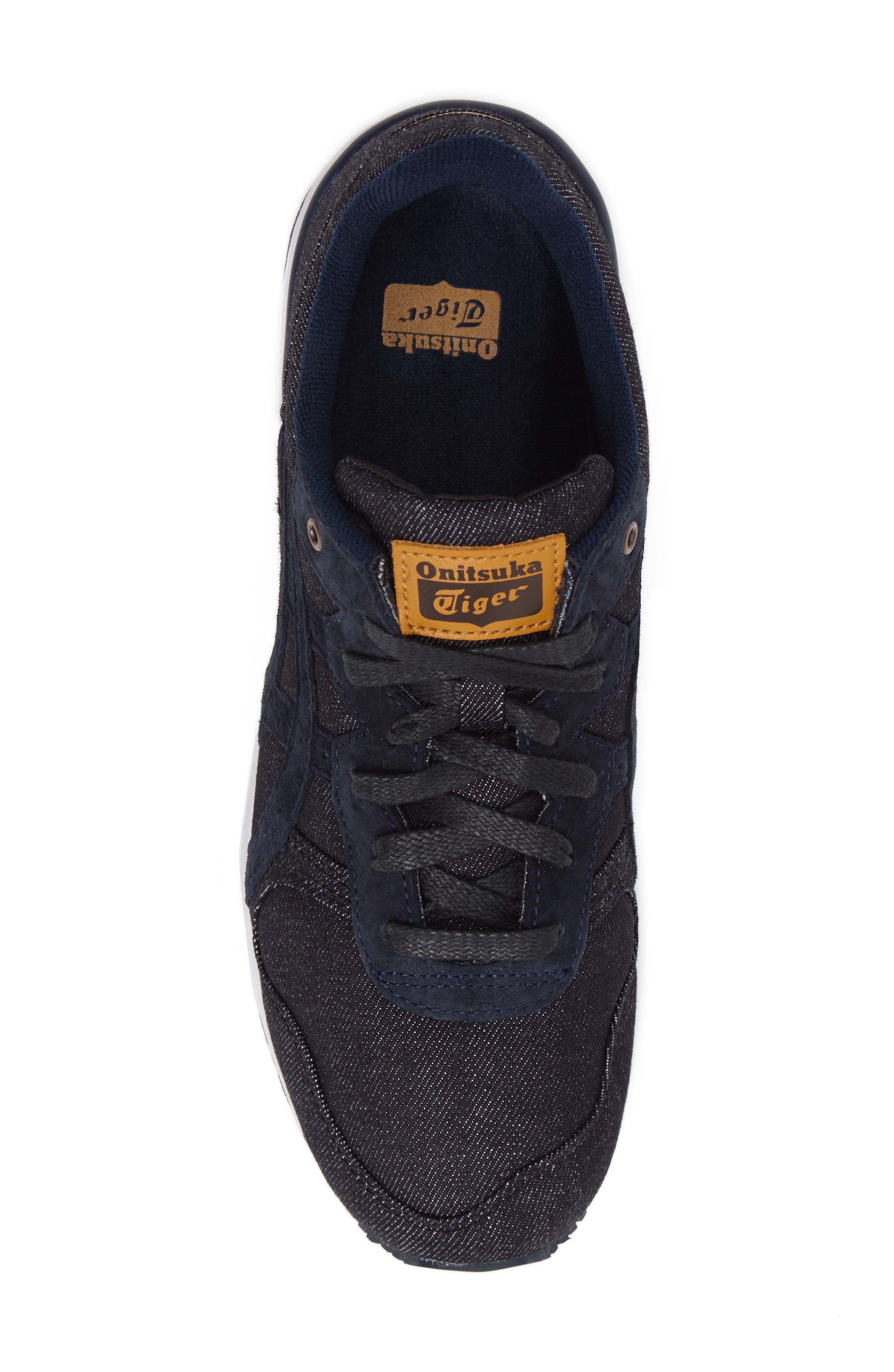 Onitsuka Tiger Ally Sneaker,                             Alternate thumbnail 5, color,                             Indigo Blue/ Indigo Blue