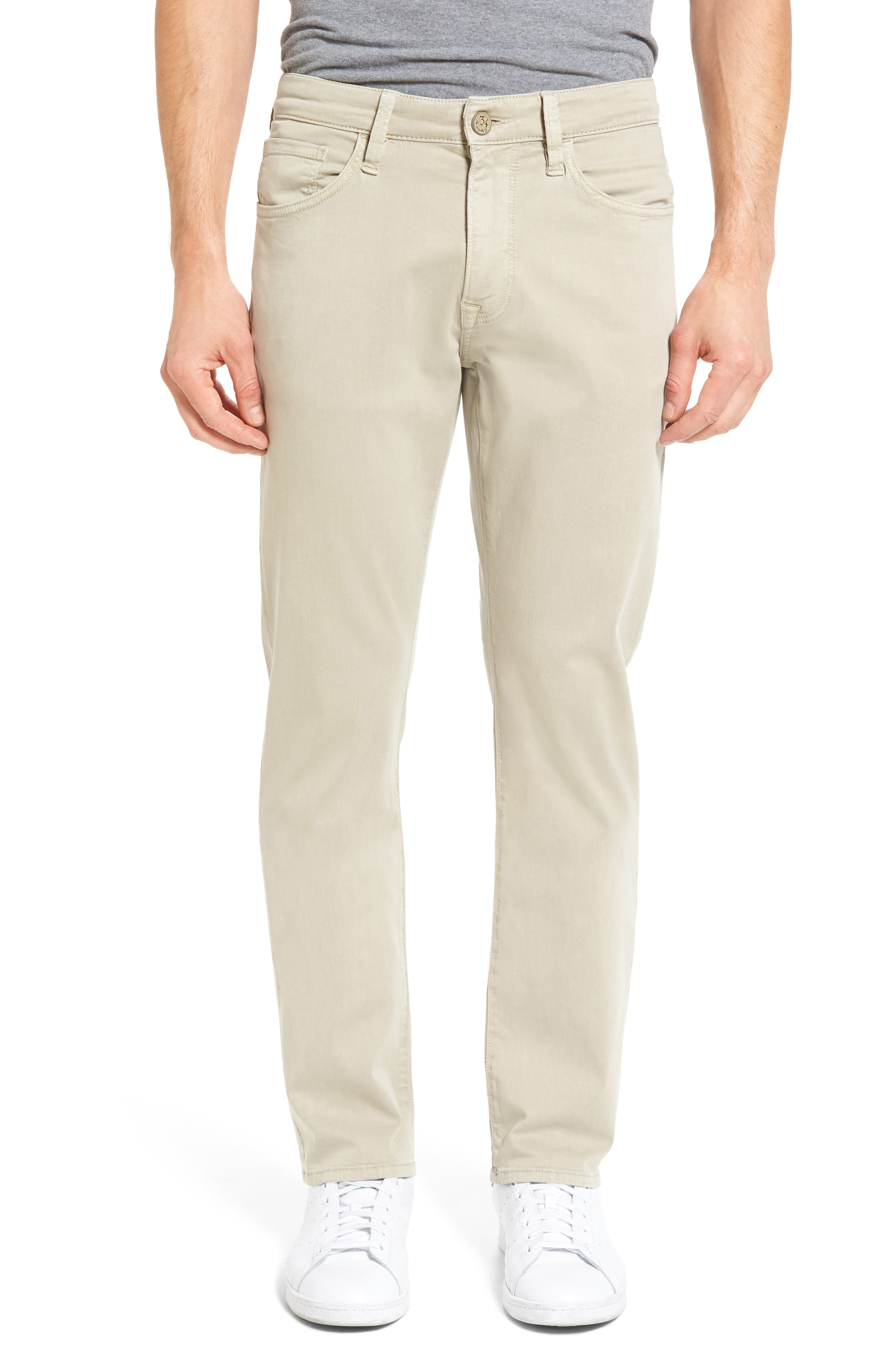 Courage Straight Leg Jeans,                             Main thumbnail 1, color,                             Stone Twill