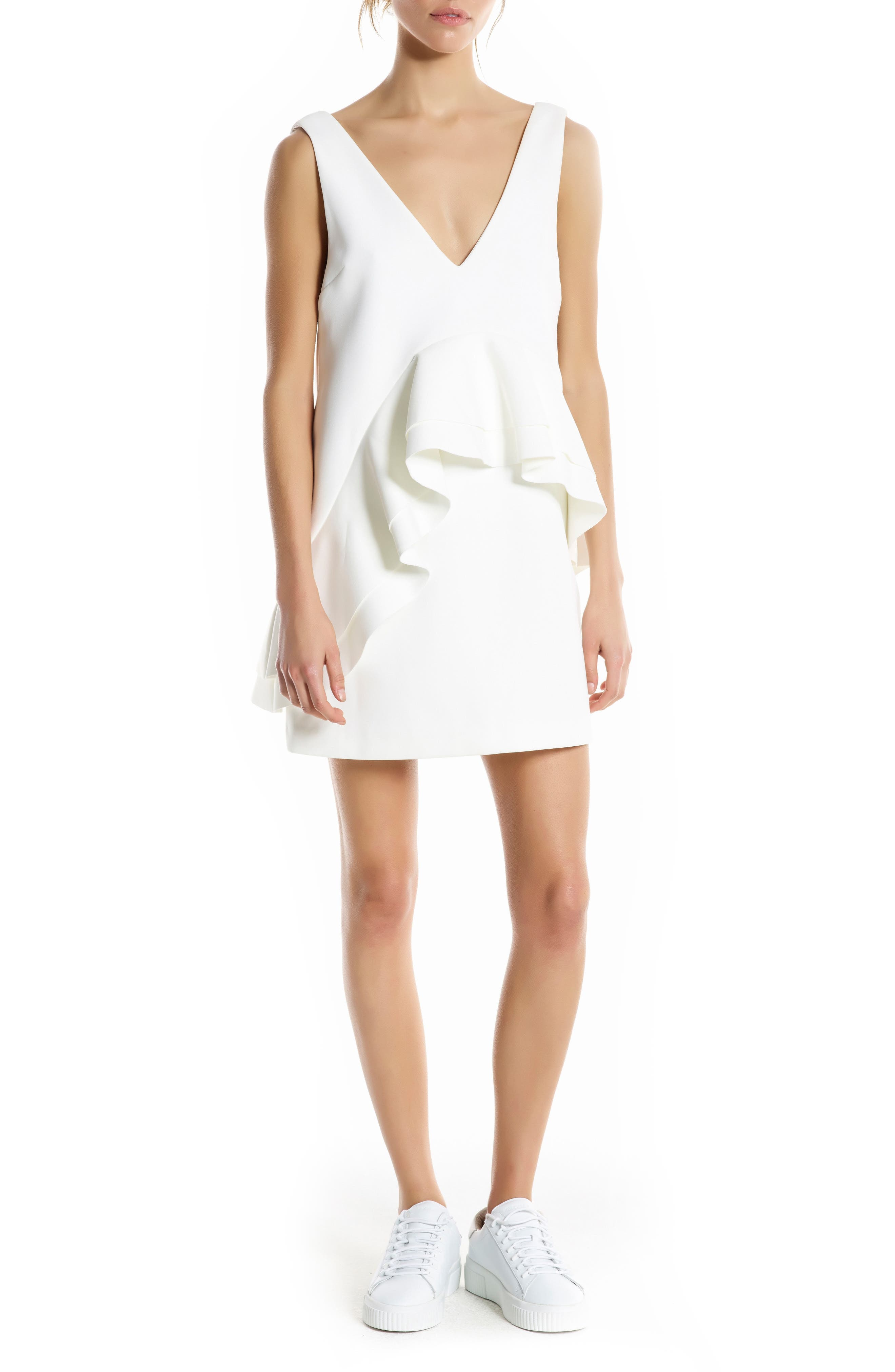 KENDALL + KYLIE Ruffle Dress