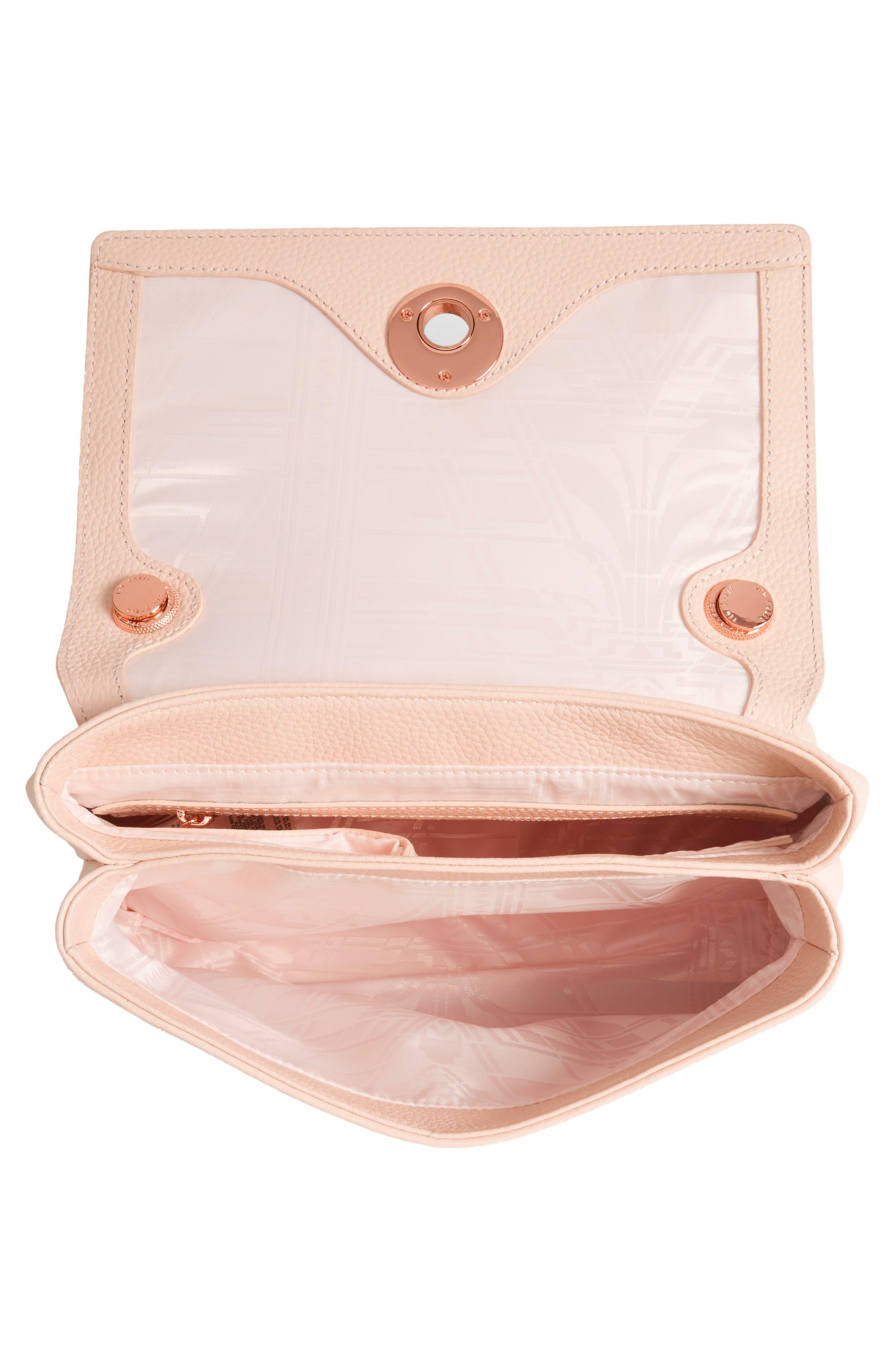 Alternate Image 4  - Ted Baker London Leather Crossbody Bag