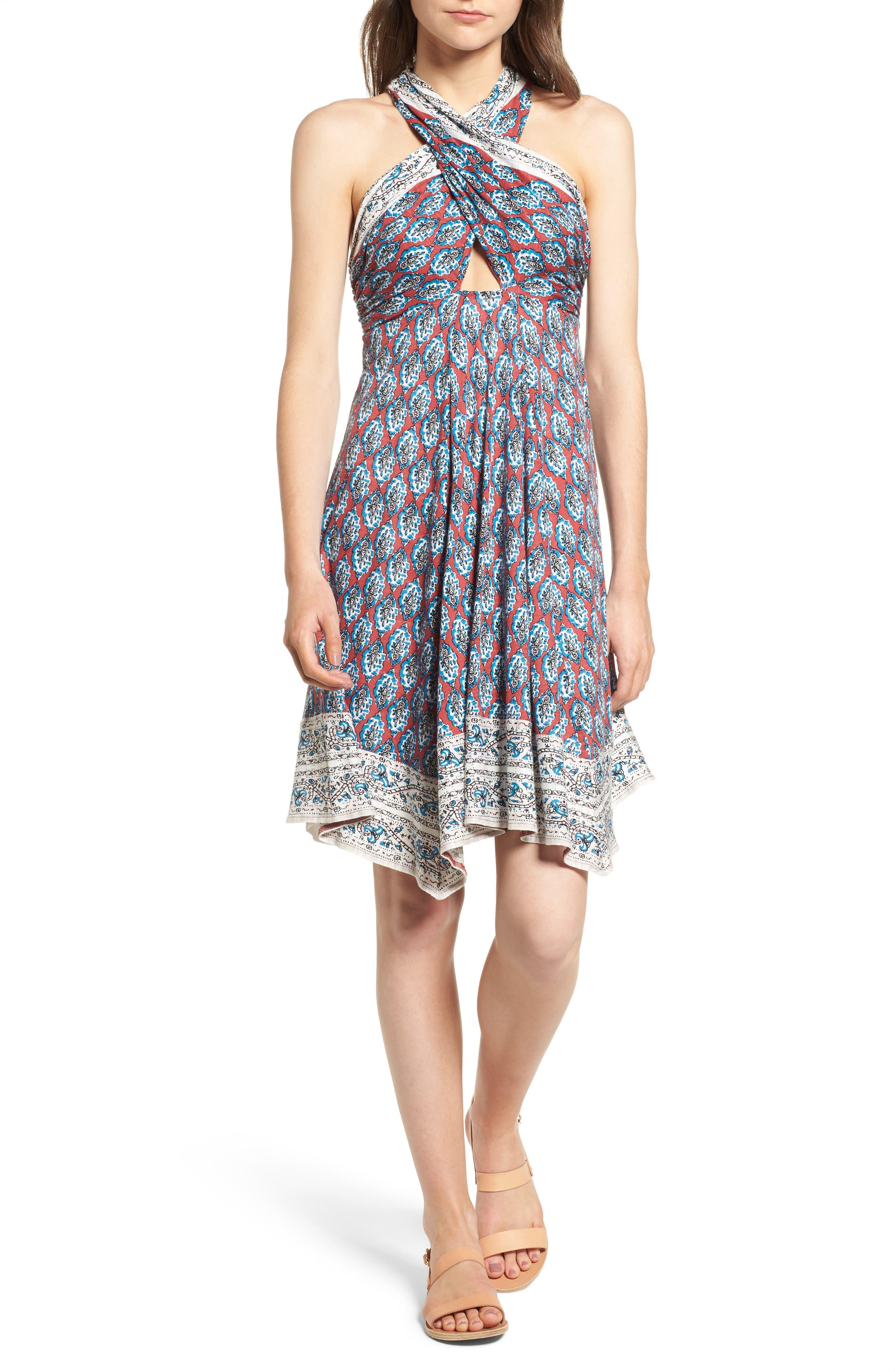 Ella Moss Bordeaux Tapestry Dress