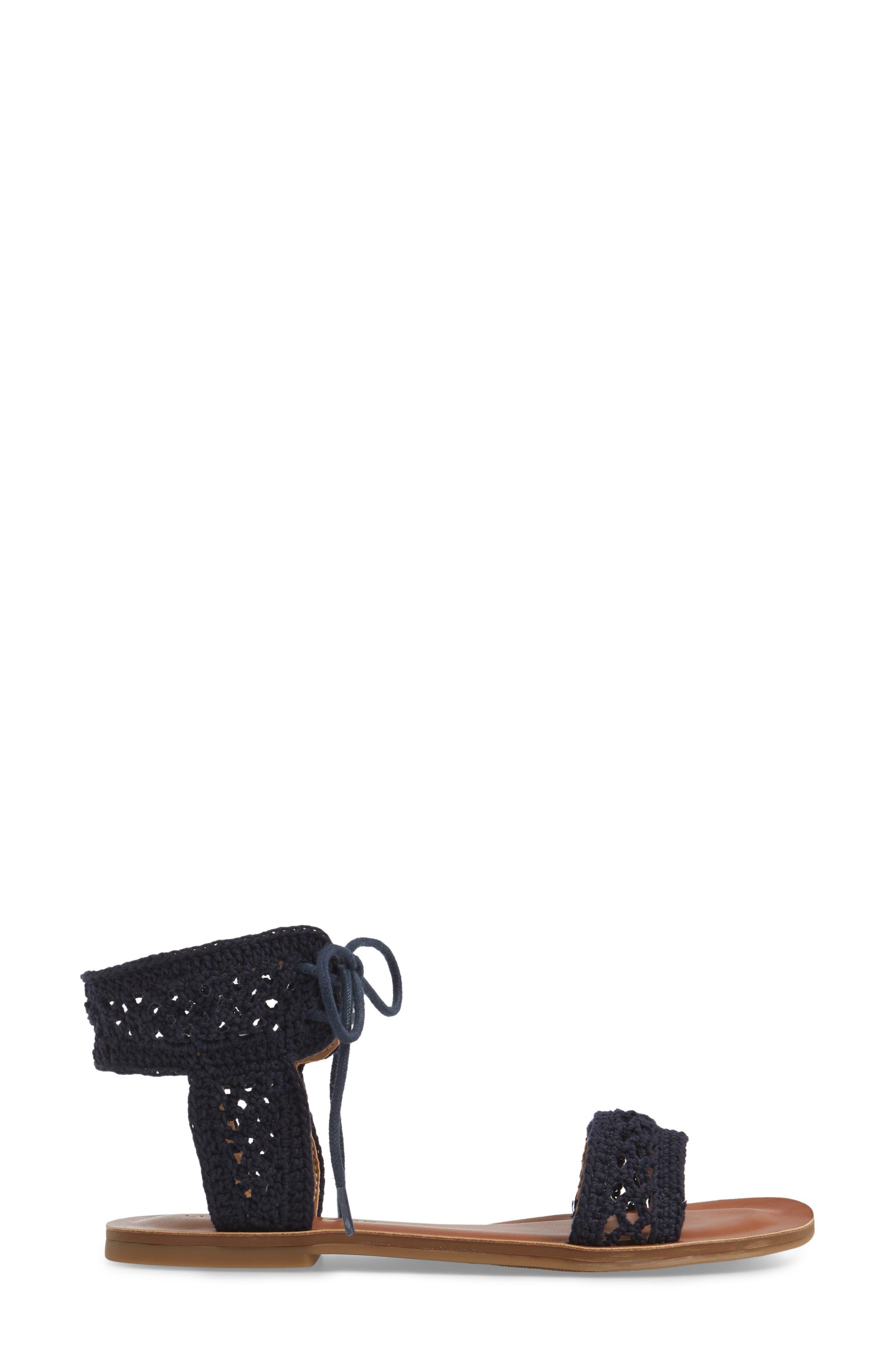 Alternate Image 3  - Lucky Brand Ariah Ankle Tie Sandal (Women)