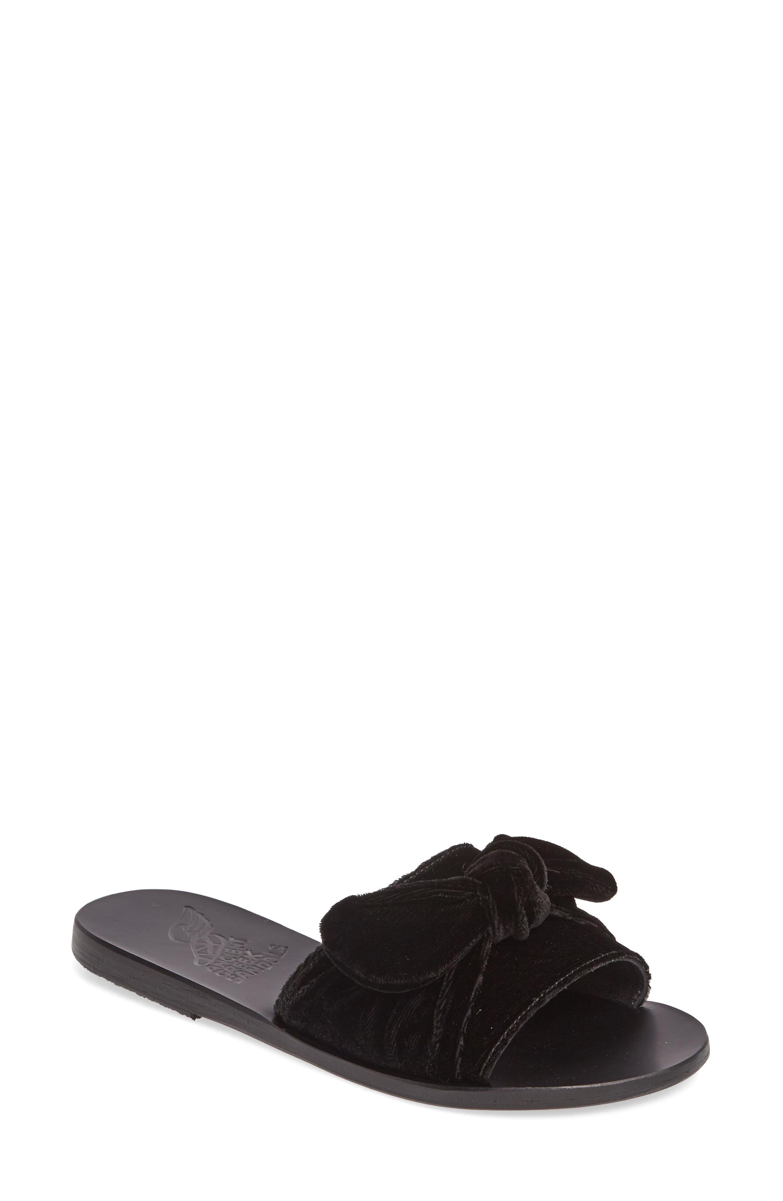 Alternate Image 1 Selected - Ancient Greek Sandals Taygete Bow Slide Sandal (Women)