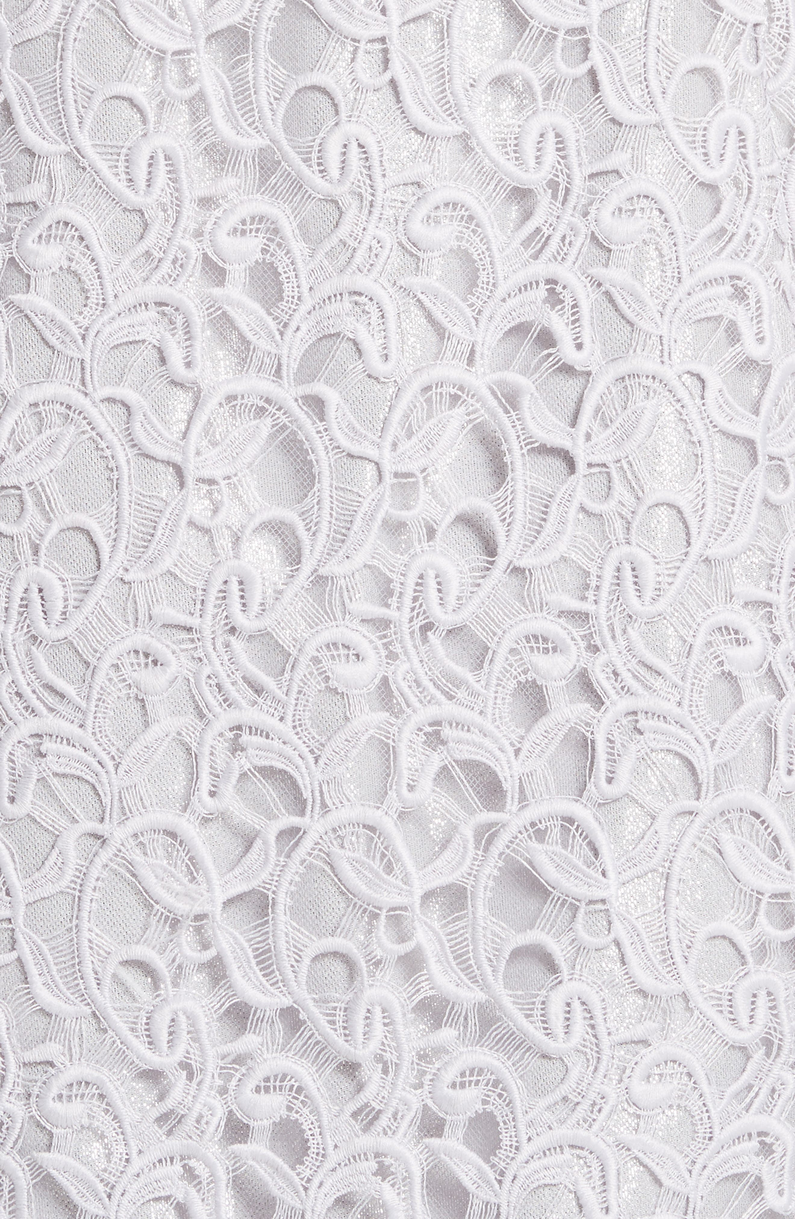Gita Guipure Lace Topper,                             Alternate thumbnail 6, color,                             Lavender