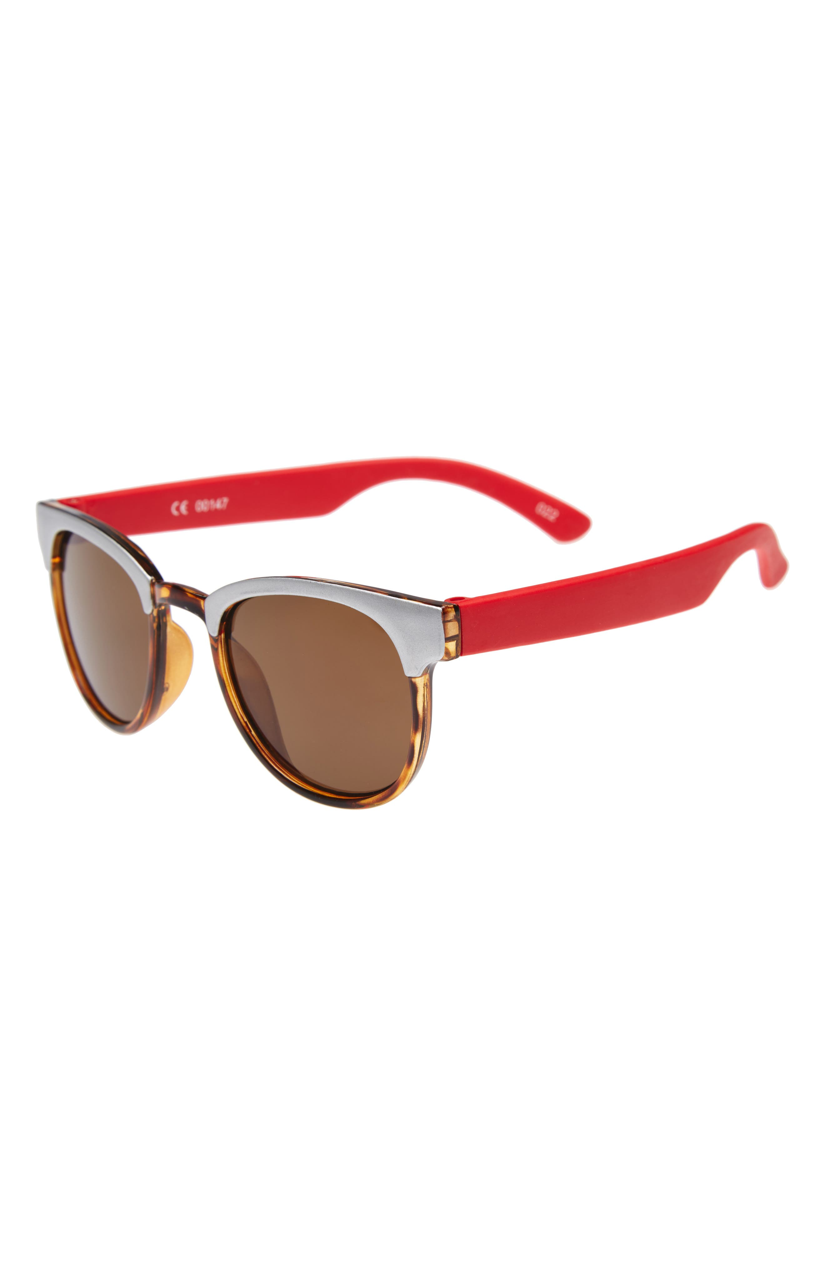 Sunglasses,                             Main thumbnail 1, color,                             Red