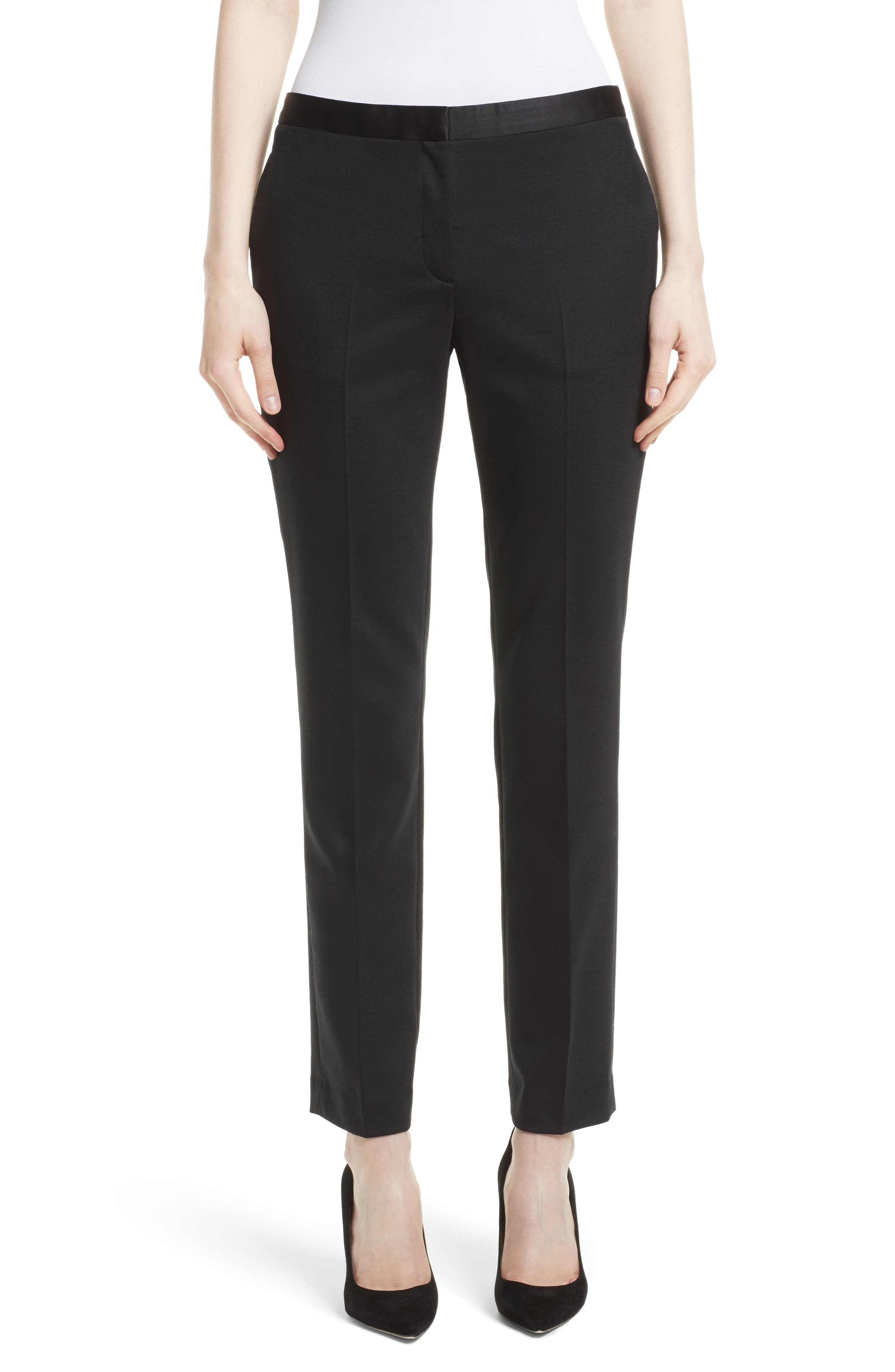 Main Image - Theory Tuxedo Suit Pants