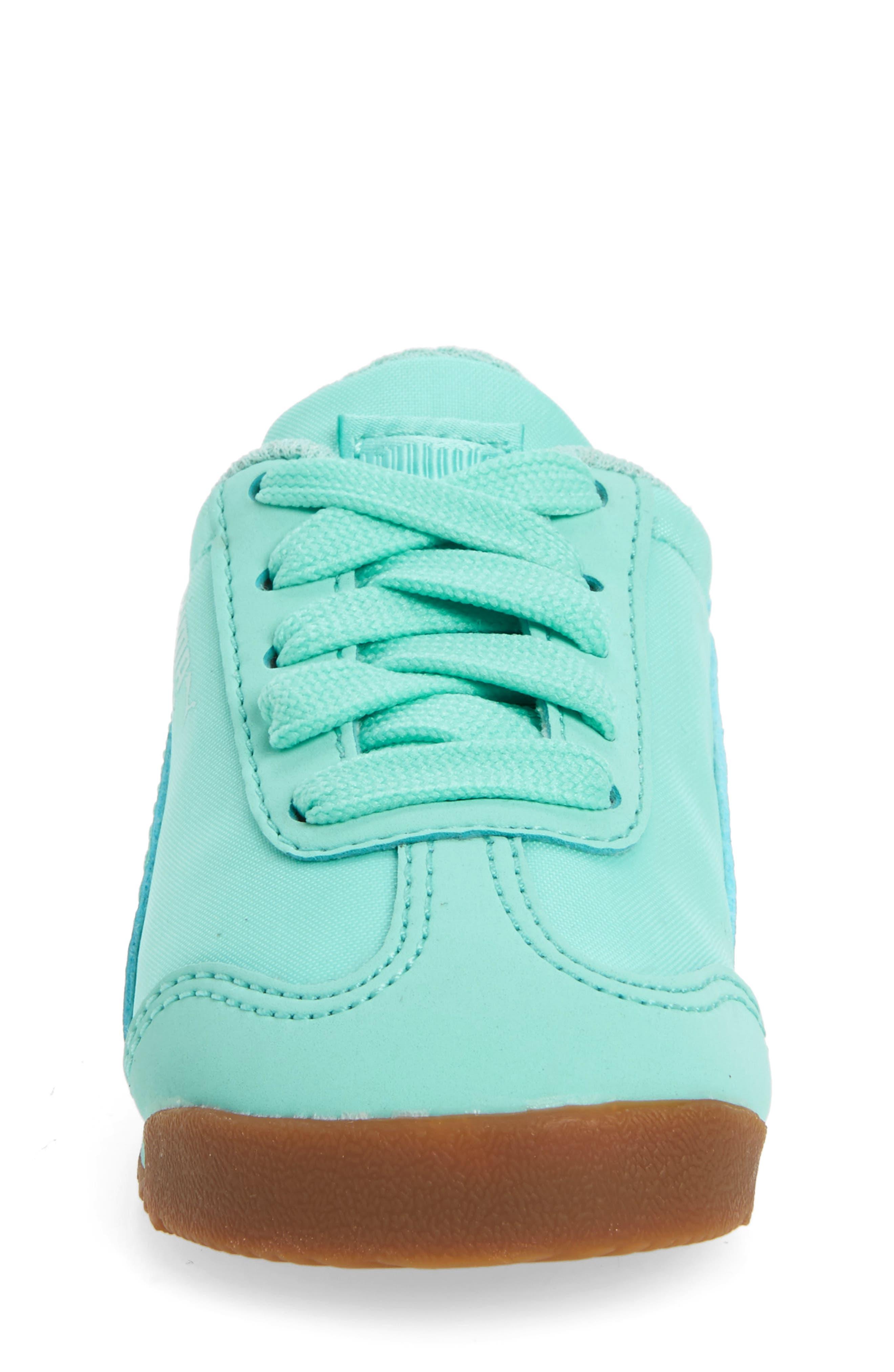 Alternate Image 4  - PUMA Roma Basic Summer Sneaker (Baby, Walker & Toddler)