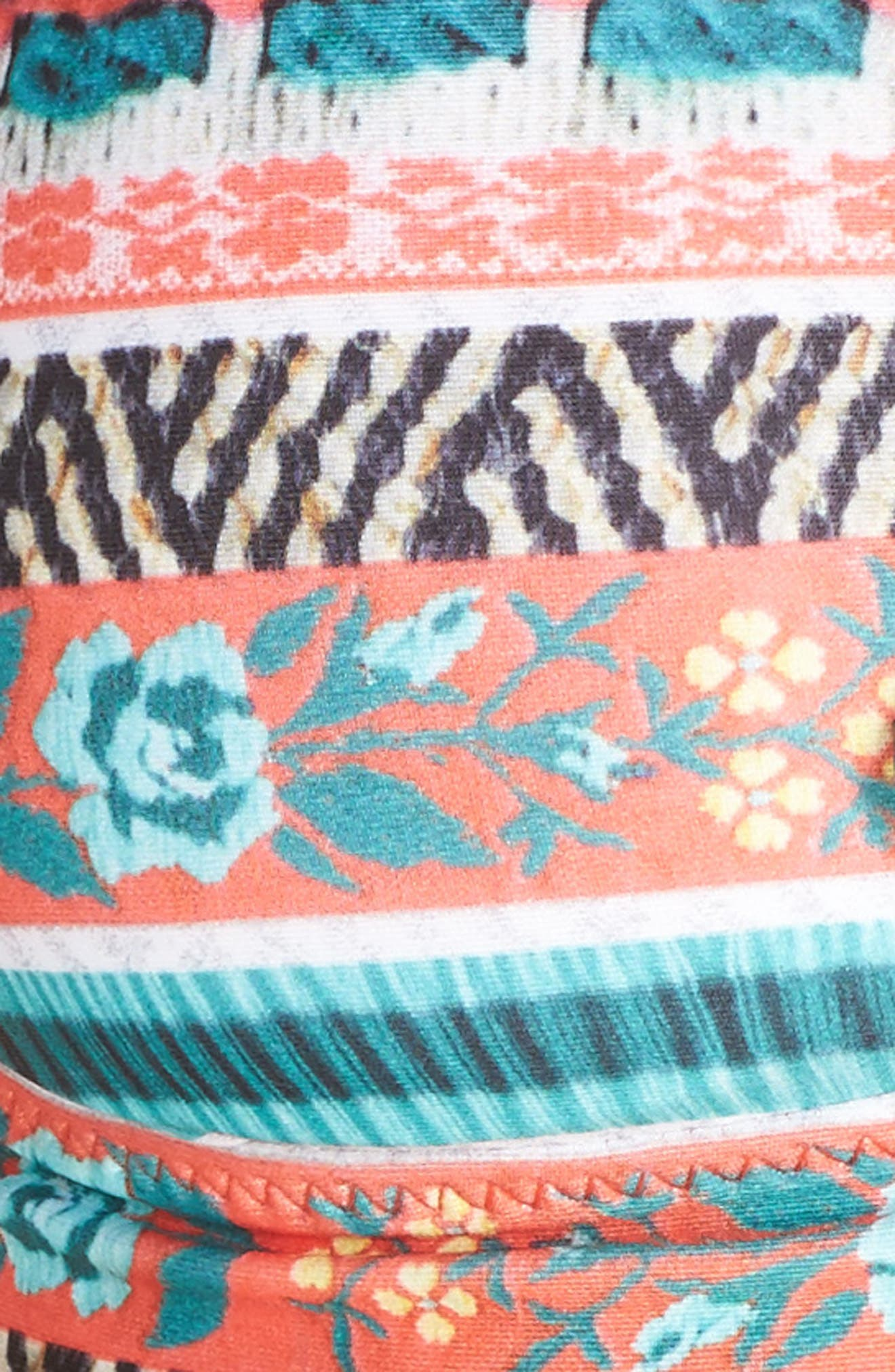Alternate Image 5  - Becca Tapestry Bikini Top