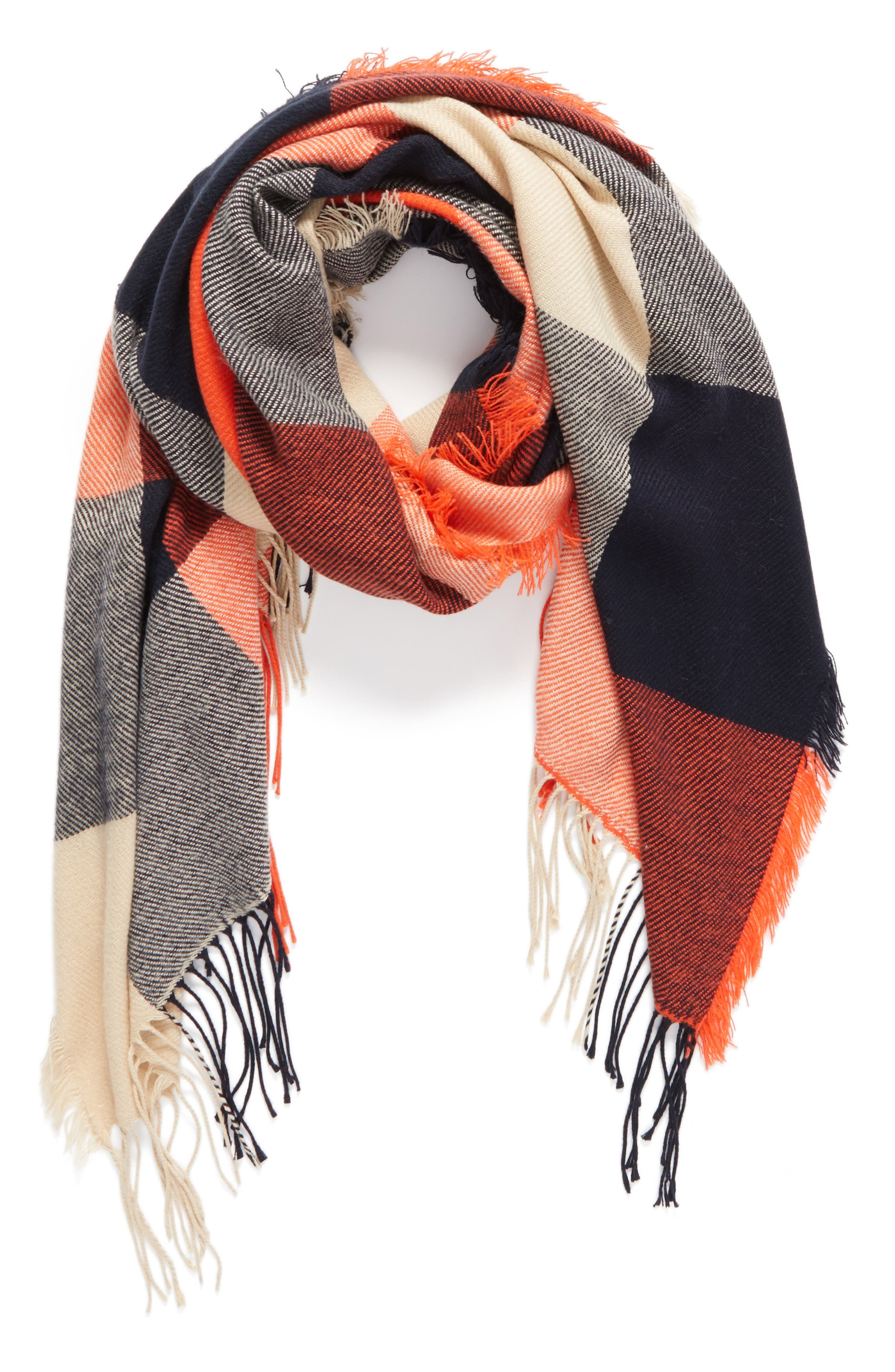 Alternate Image 4  - Madewell Checkmate Fringe Scarf