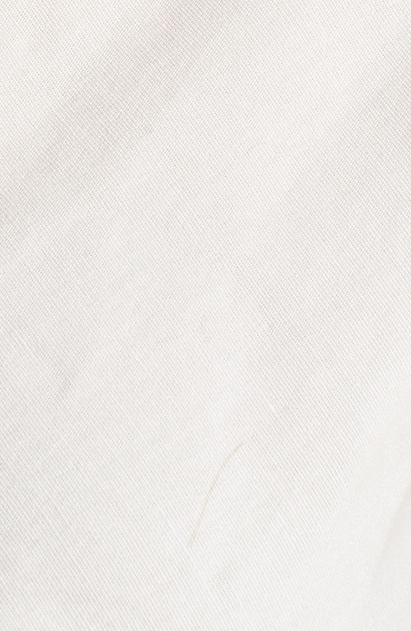 Janis Wrap Top,                             Alternate thumbnail 5, color,                             Ivory
