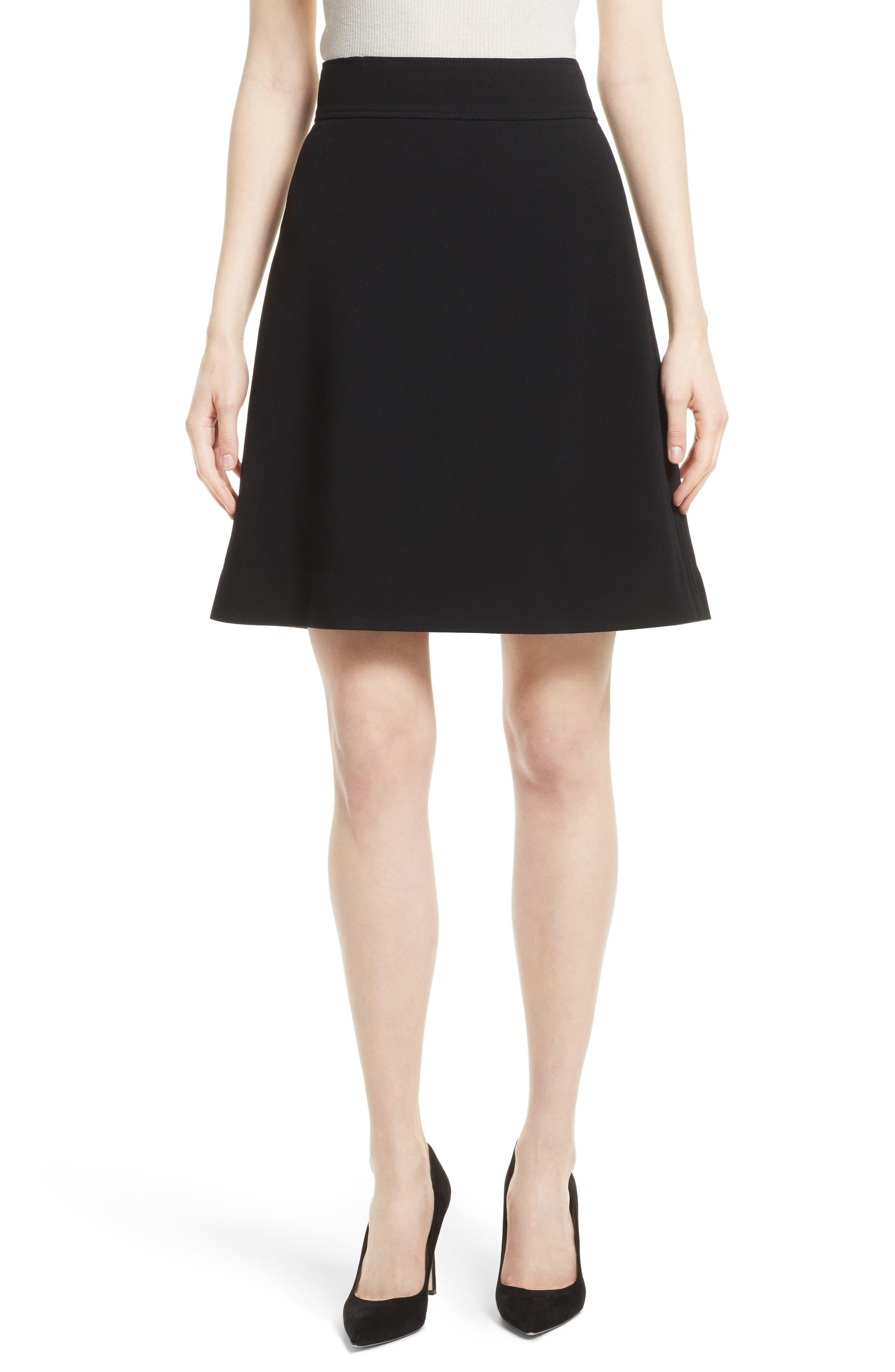 Theory Camogie High Waist Miniskirt
