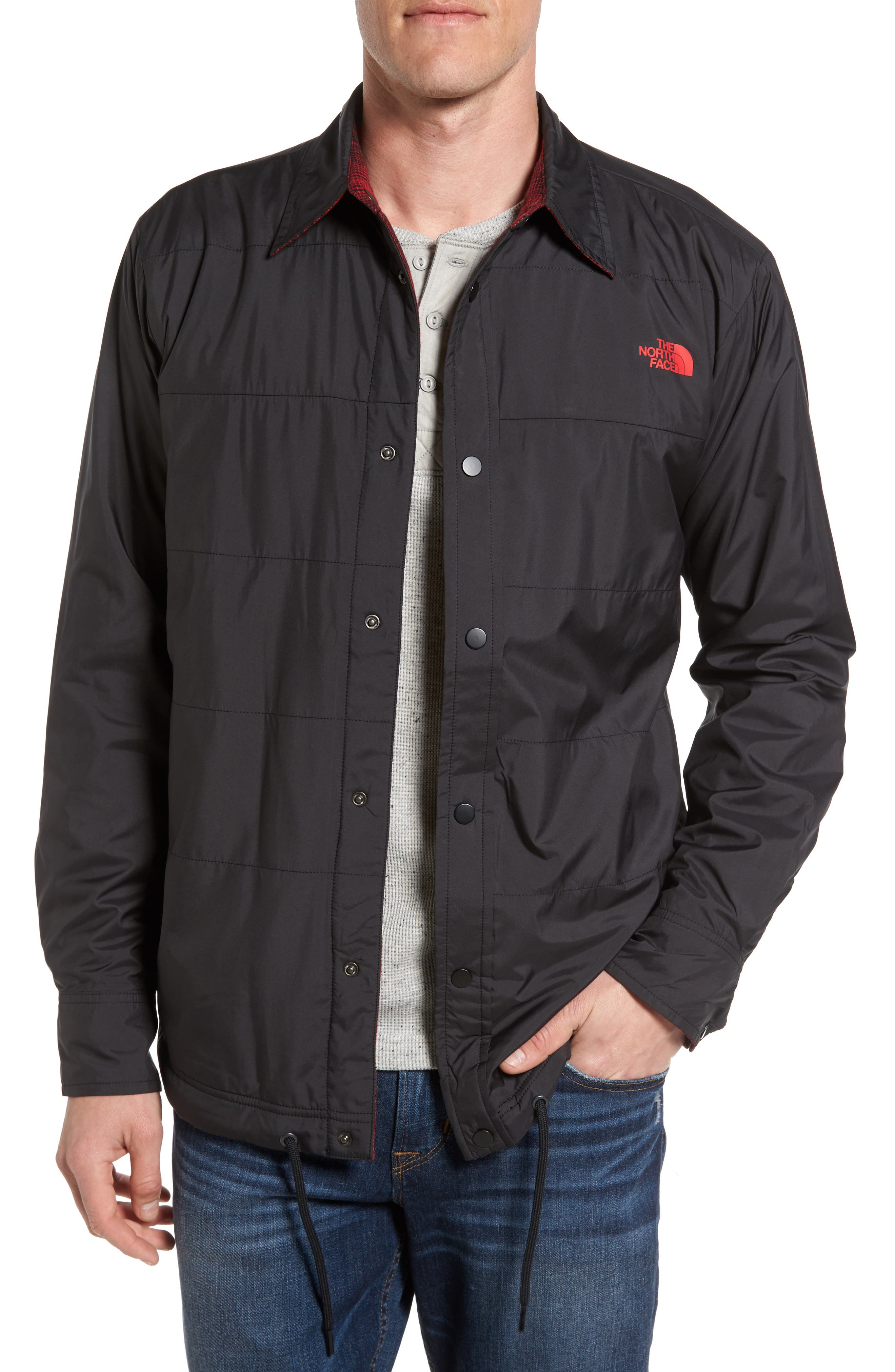 The North Face 'Fort Point' Reversible Water Repellent Jacket