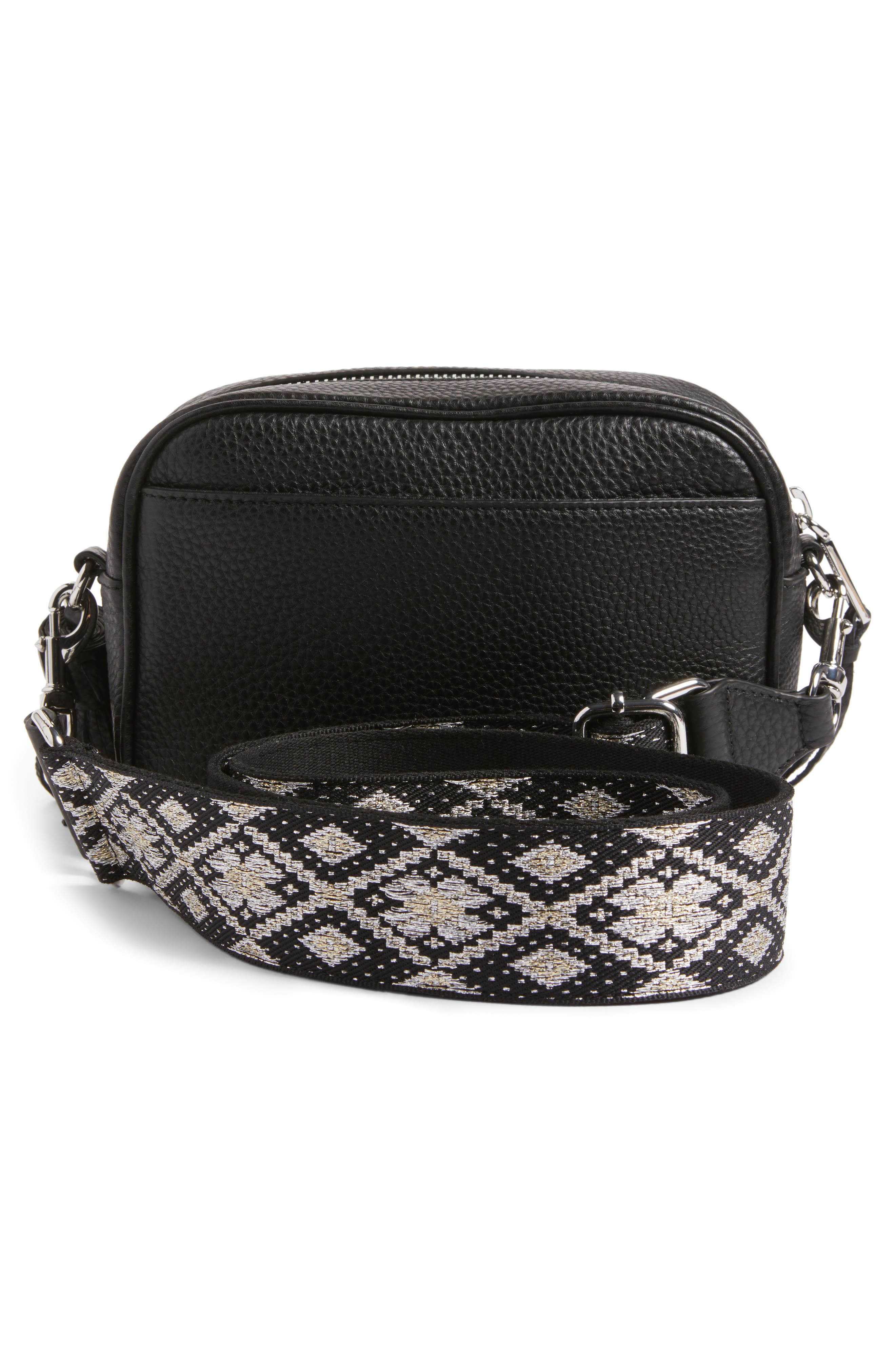 Alternate Image 3  - Rebecca Minkoff Leather Camera Bag with Guitar Strap (Nordstrom Exclusive)