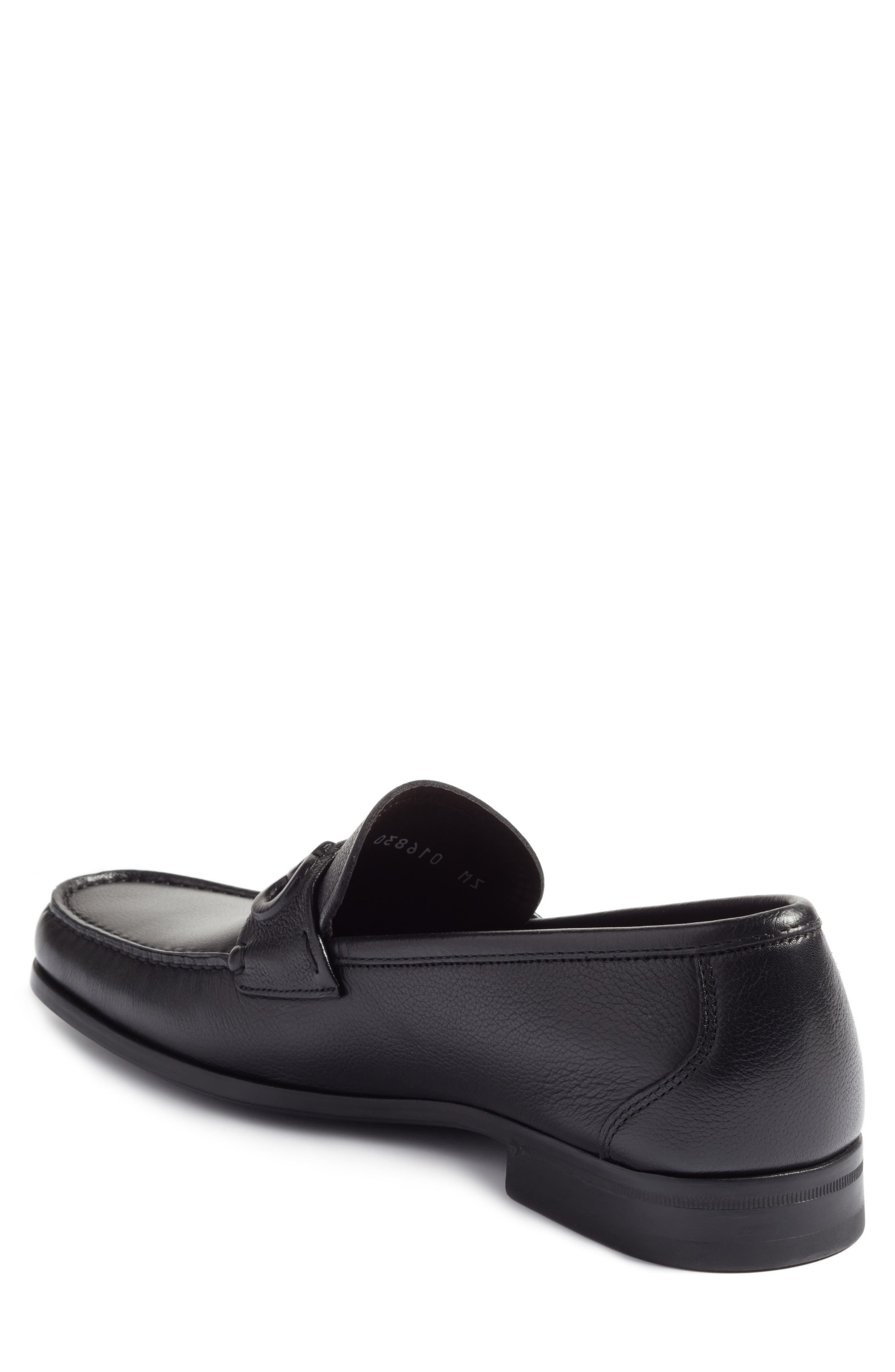 Bit Loafer,                             Alternate thumbnail 2, color,                             Nero Leather