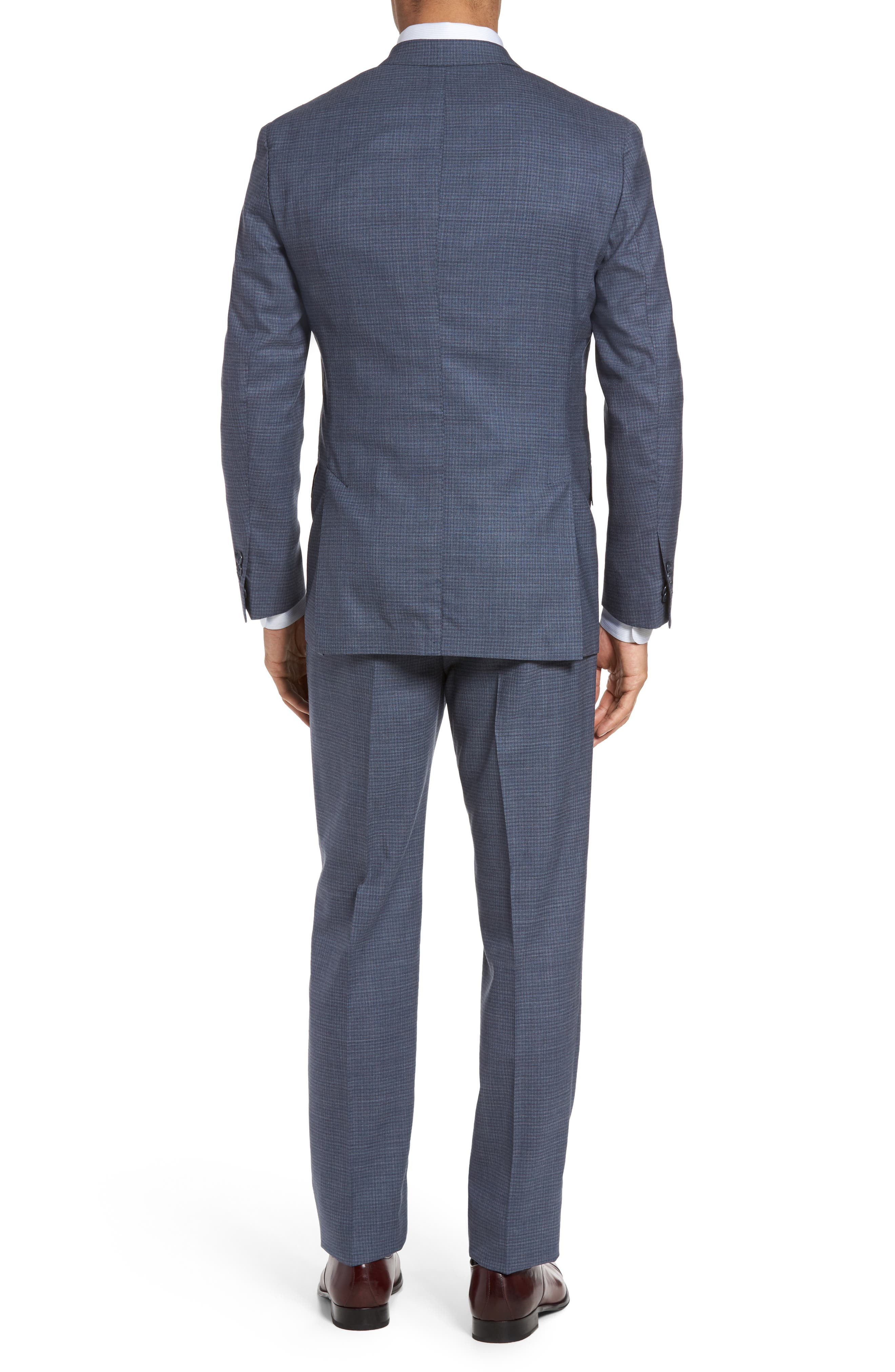 Alternate Image 2  - Michael Bastian Classic Fit Check Wool Suit