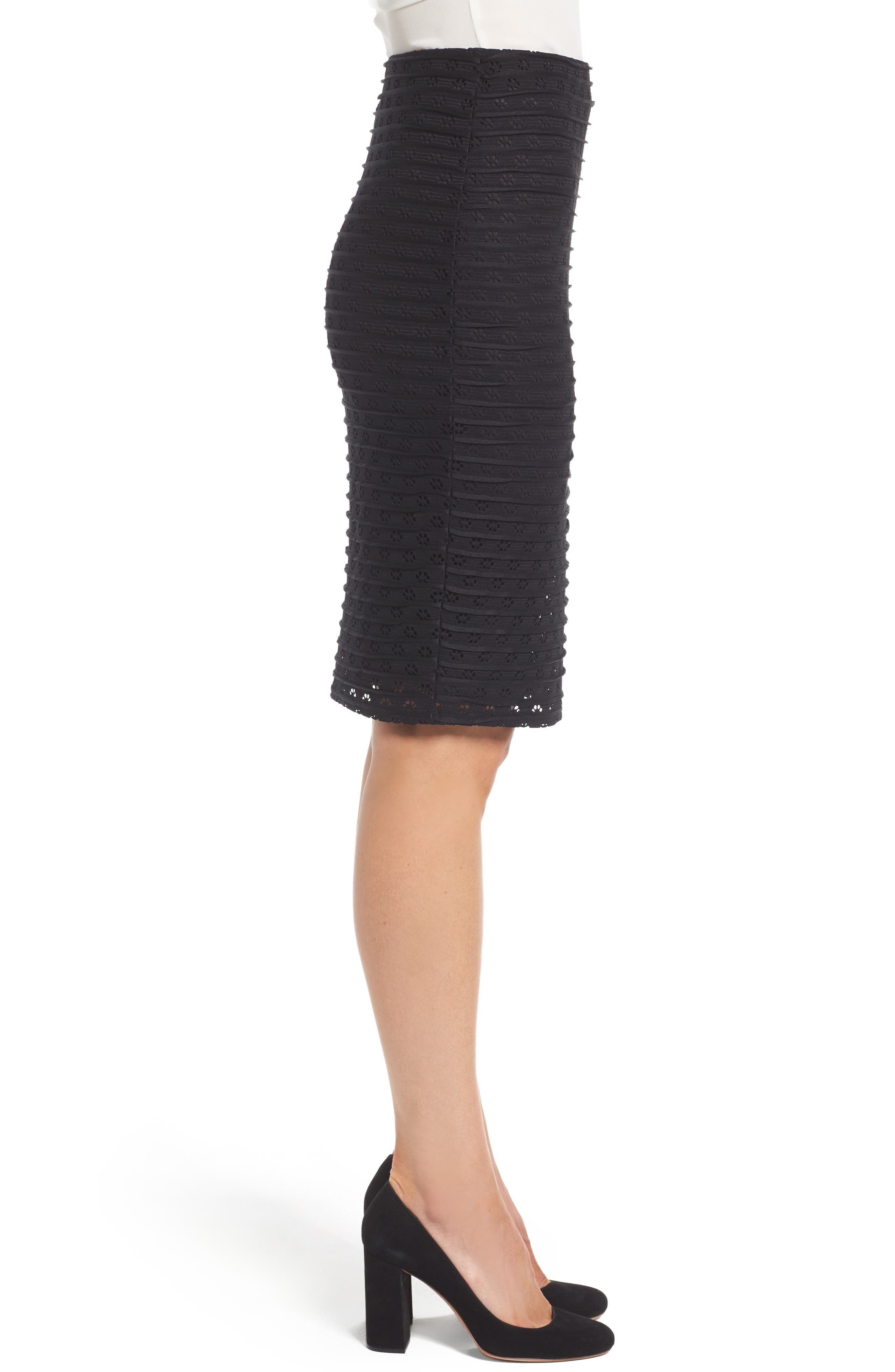 Alternate Image 3  - CeCe Jacquard Knit Pencil Skirt