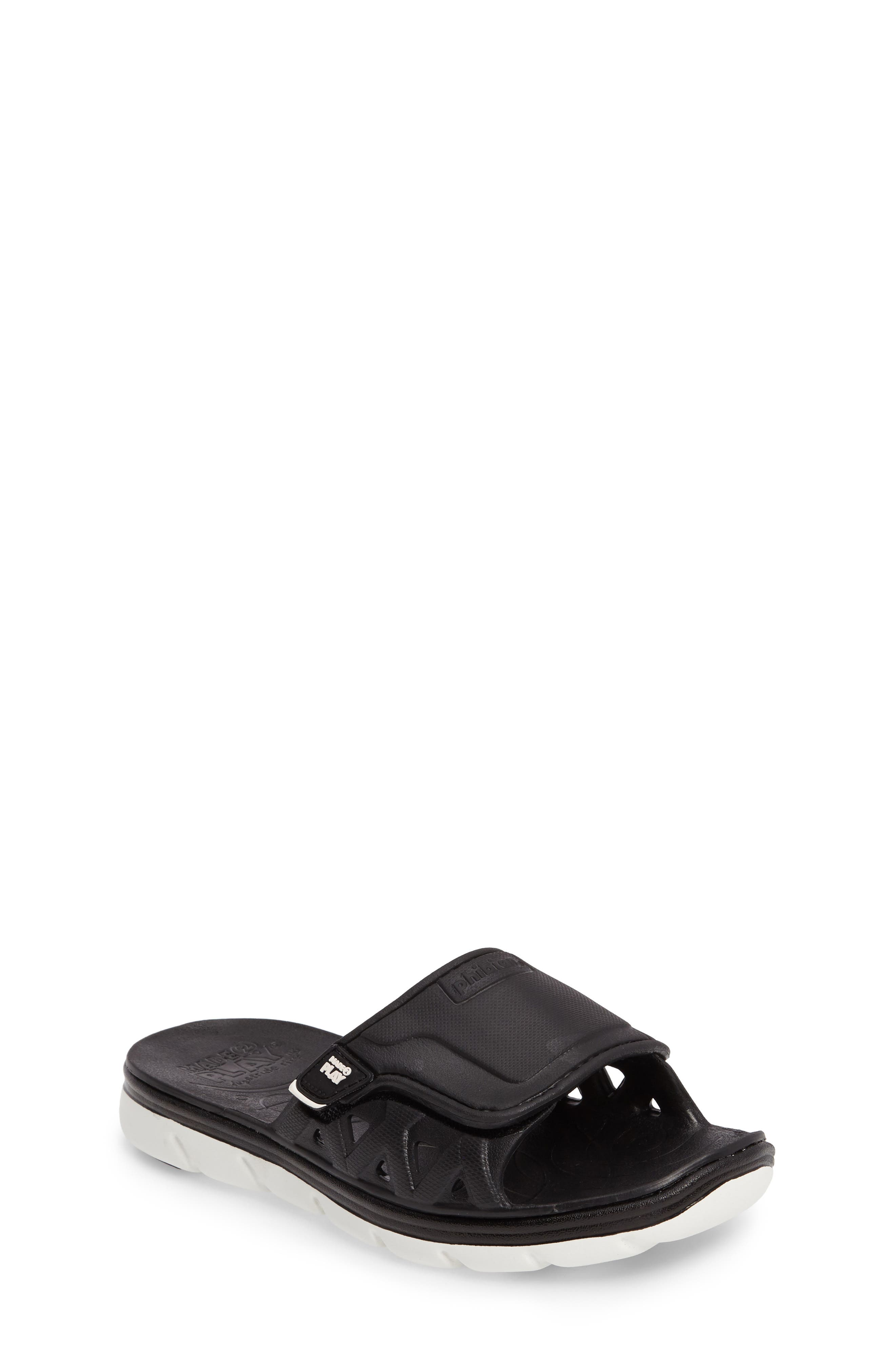 Made2Play<sup>®</sup> Phibian Slide,                         Main,                         color, Black/ White