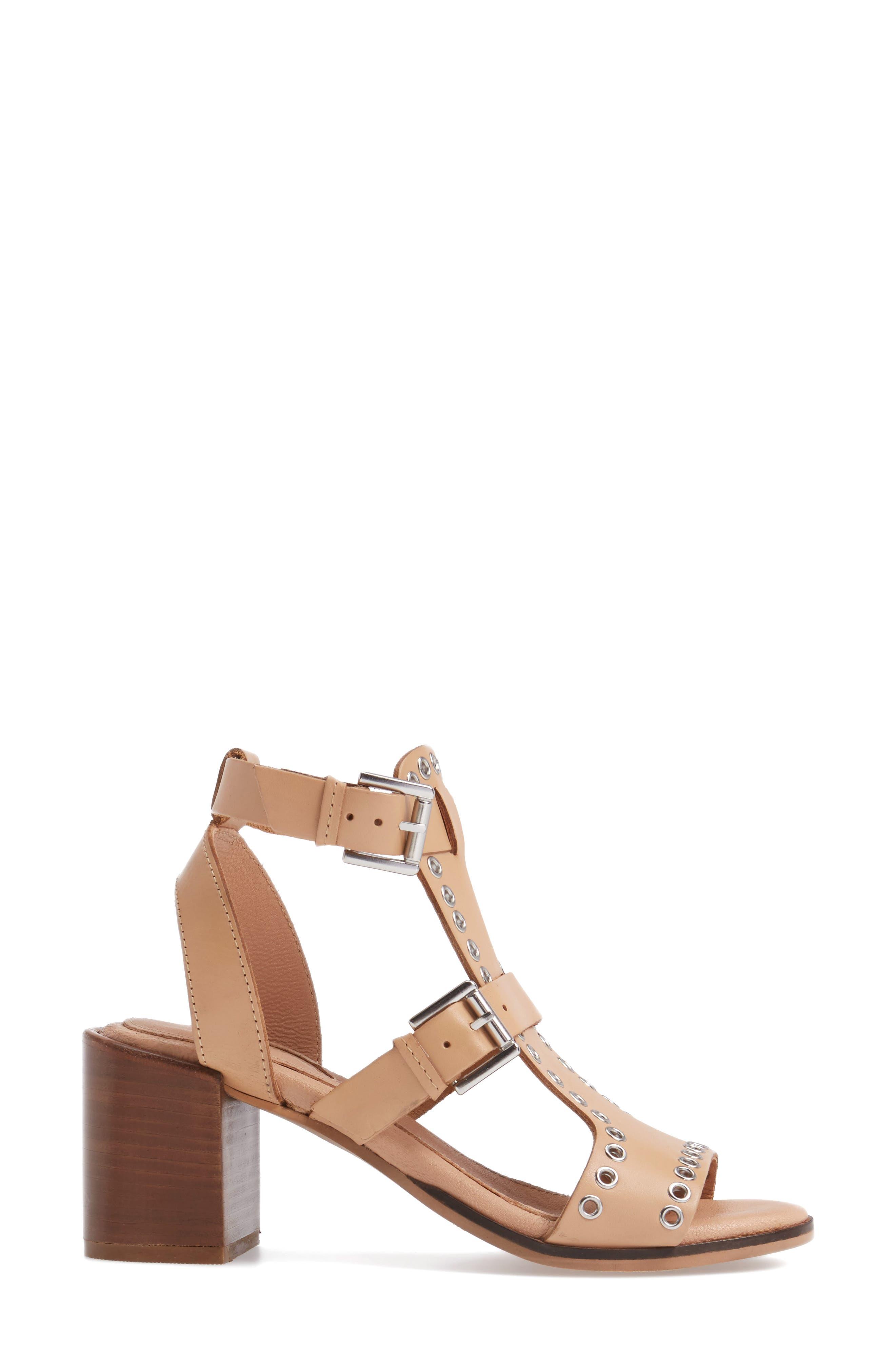 Alternate Image 3  - Topshop Vienna Grommet Sandal (Women)