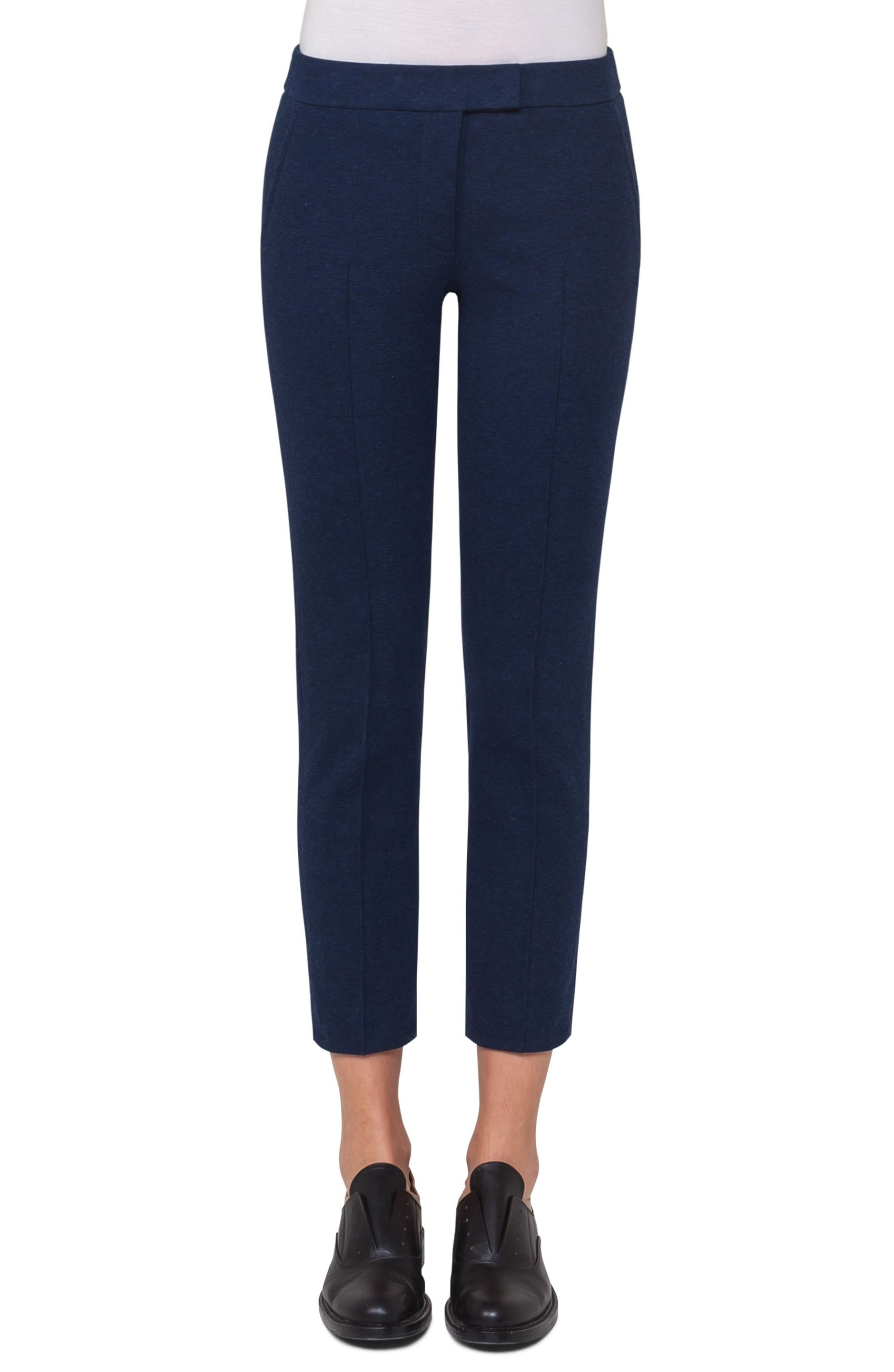 Main Image - Akris punto Frankie Crop Jersey Pants