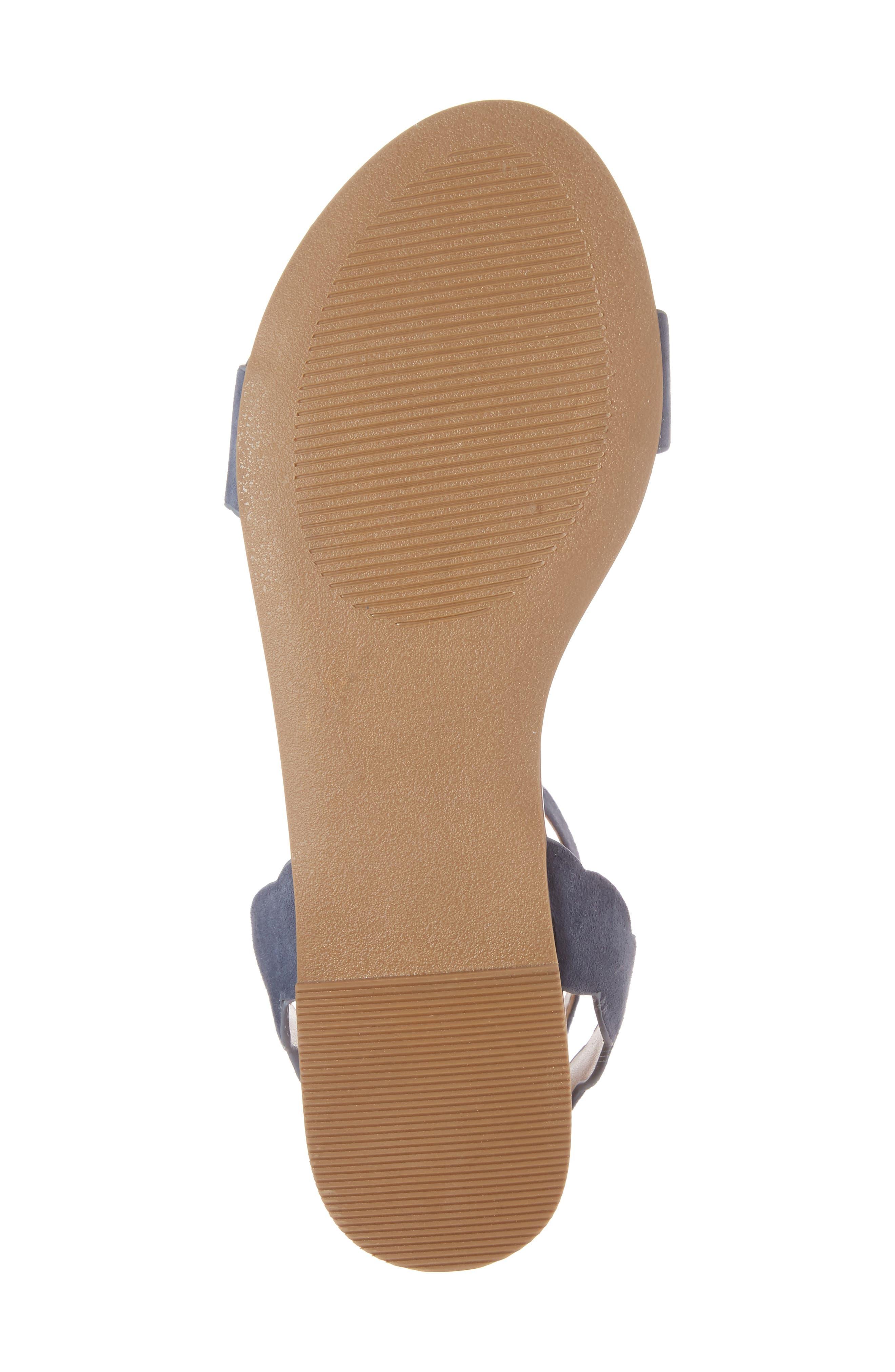 Alternate Image 6  - Sole Society 'Odette' Scalloped Ankle Strap Flat Sandal (Women)