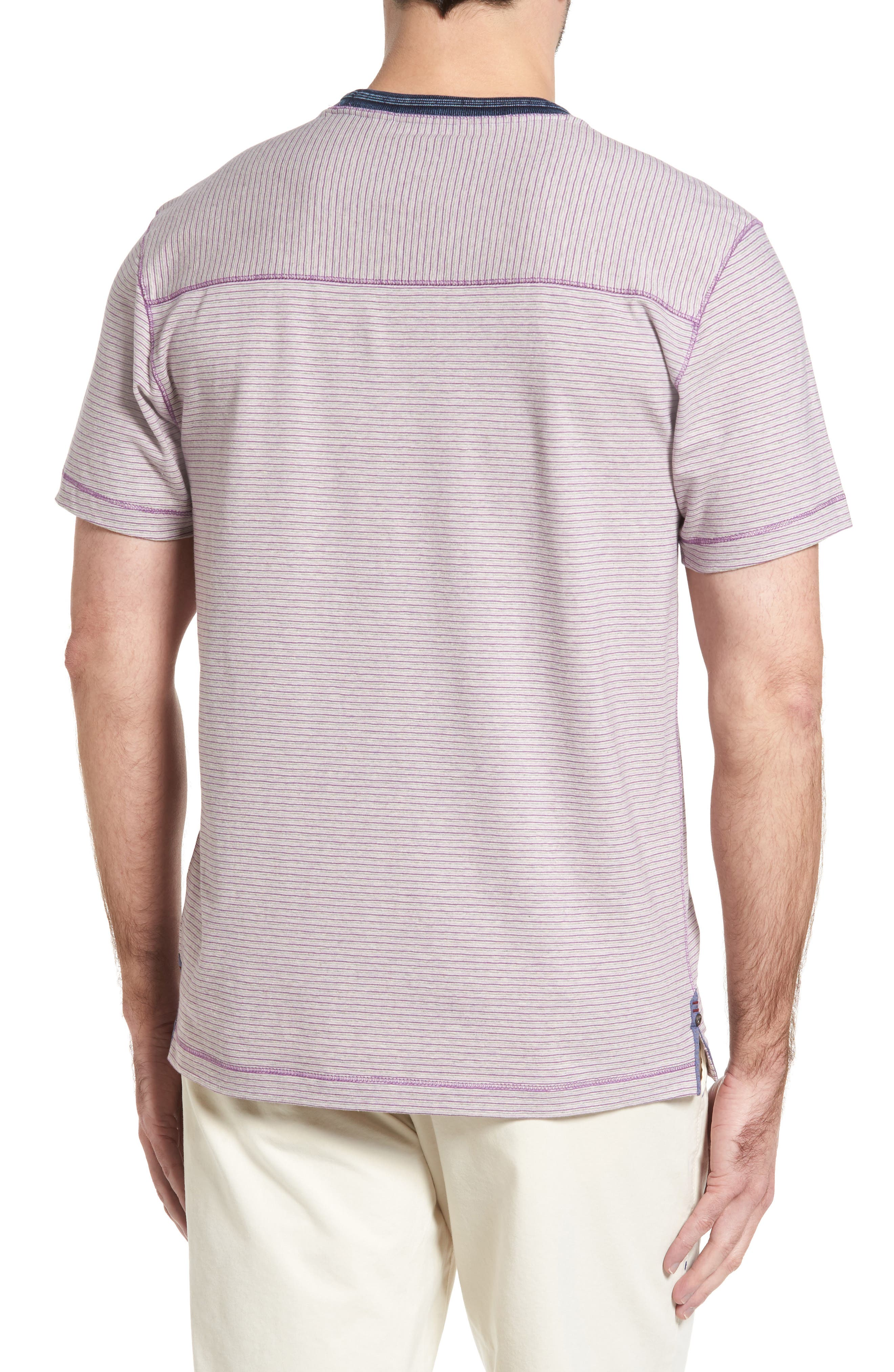 Alternate Image 2  - Thaddeus Strong Stripe T-Shirt