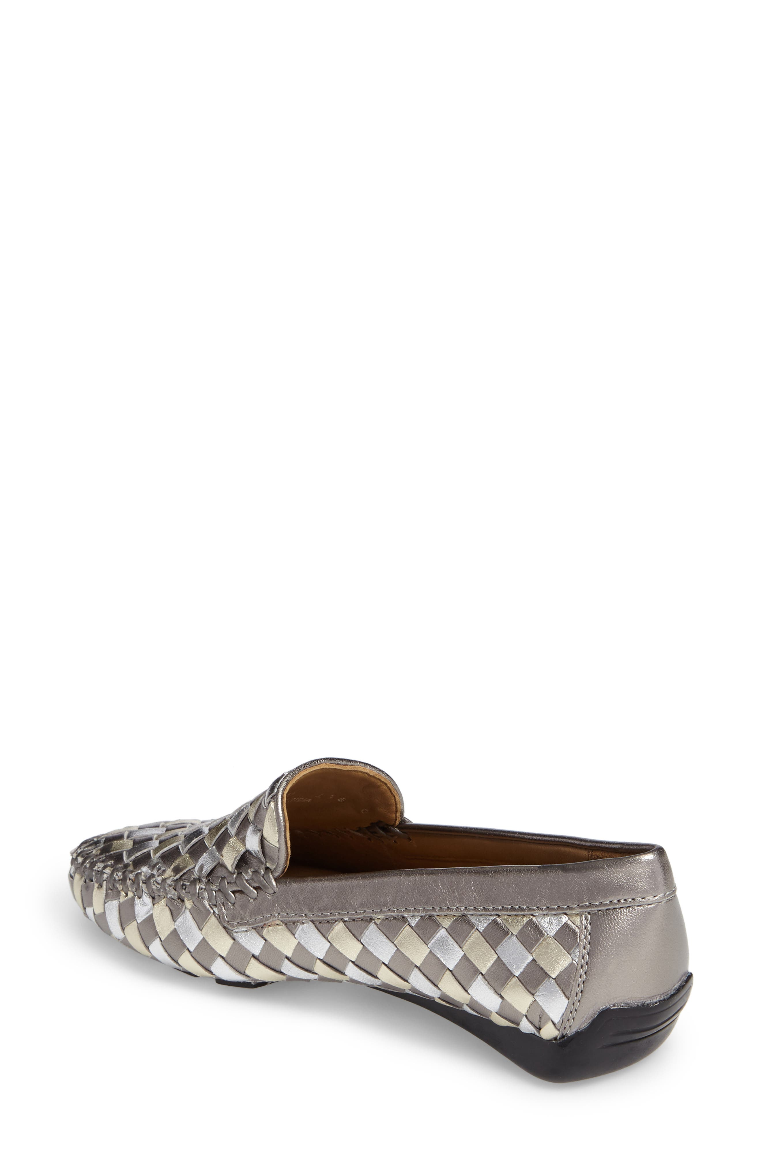 Alternate Image 2  - Robert Zur Woven Venetian Loafer (Women)