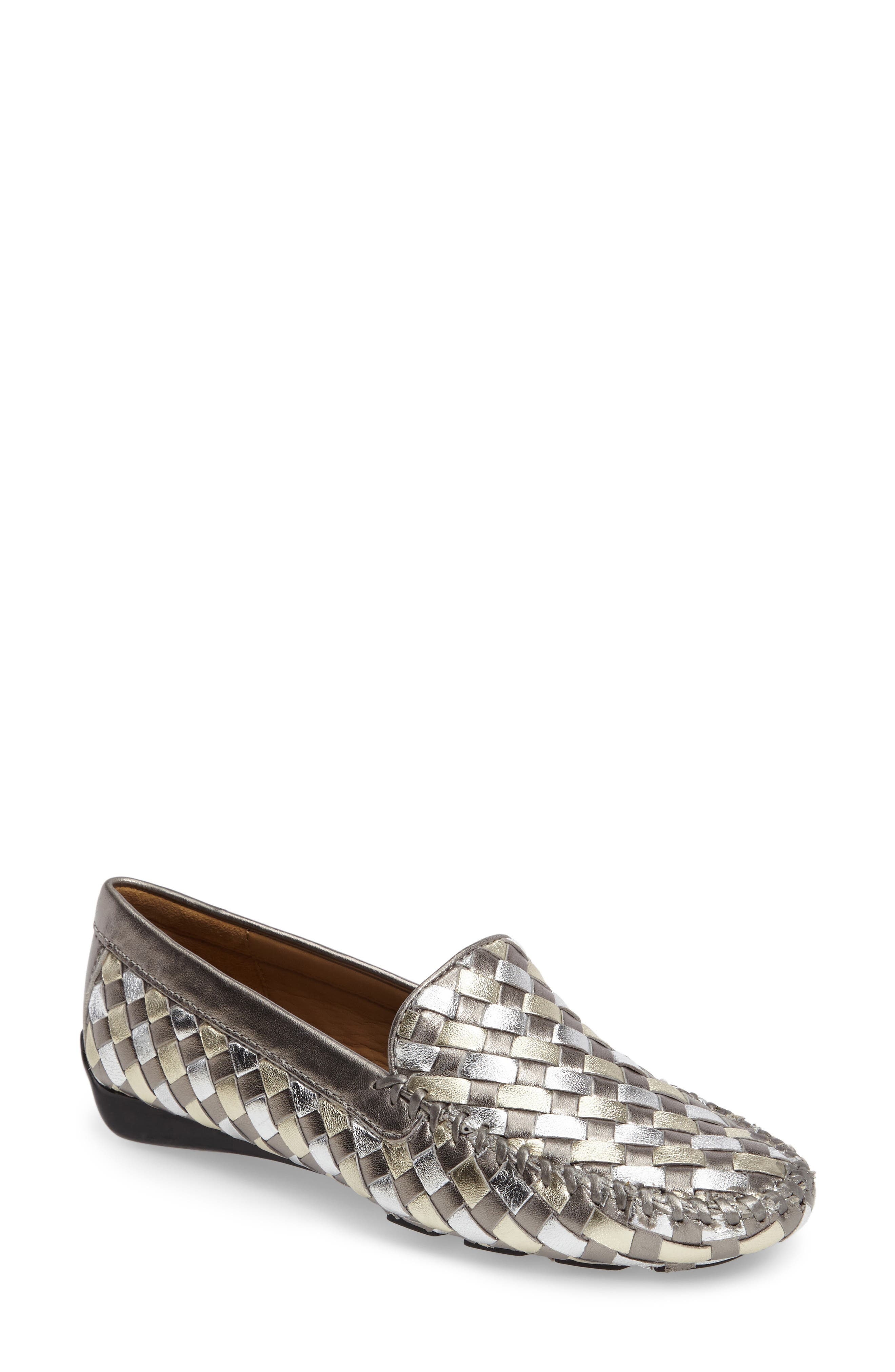 Alternate Image 1 Selected - Robert Zur Woven Venetian Loafer (Women)