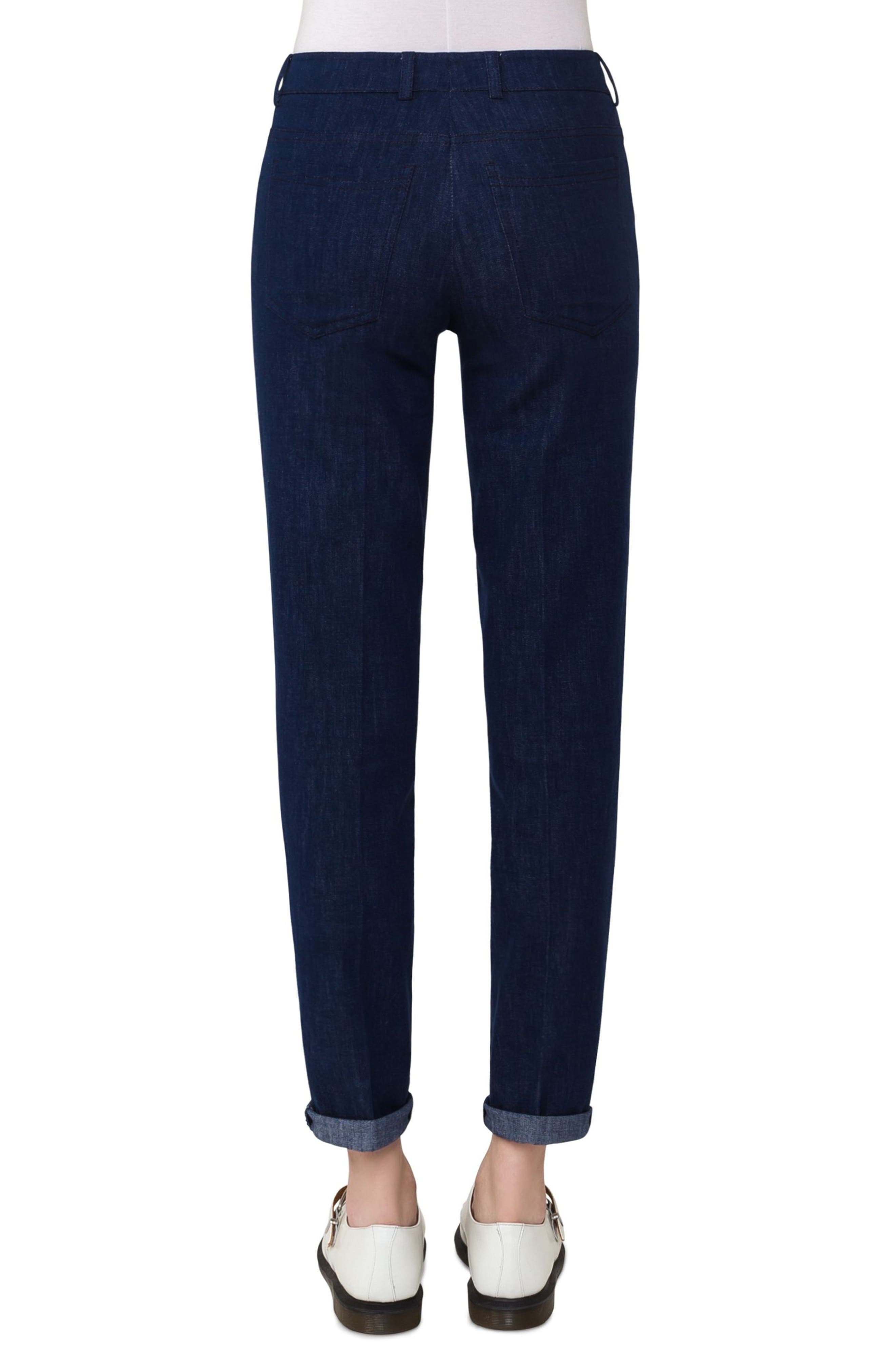 Slim Stretch Denim Pants,                             Alternate thumbnail 2, color,                             Denim