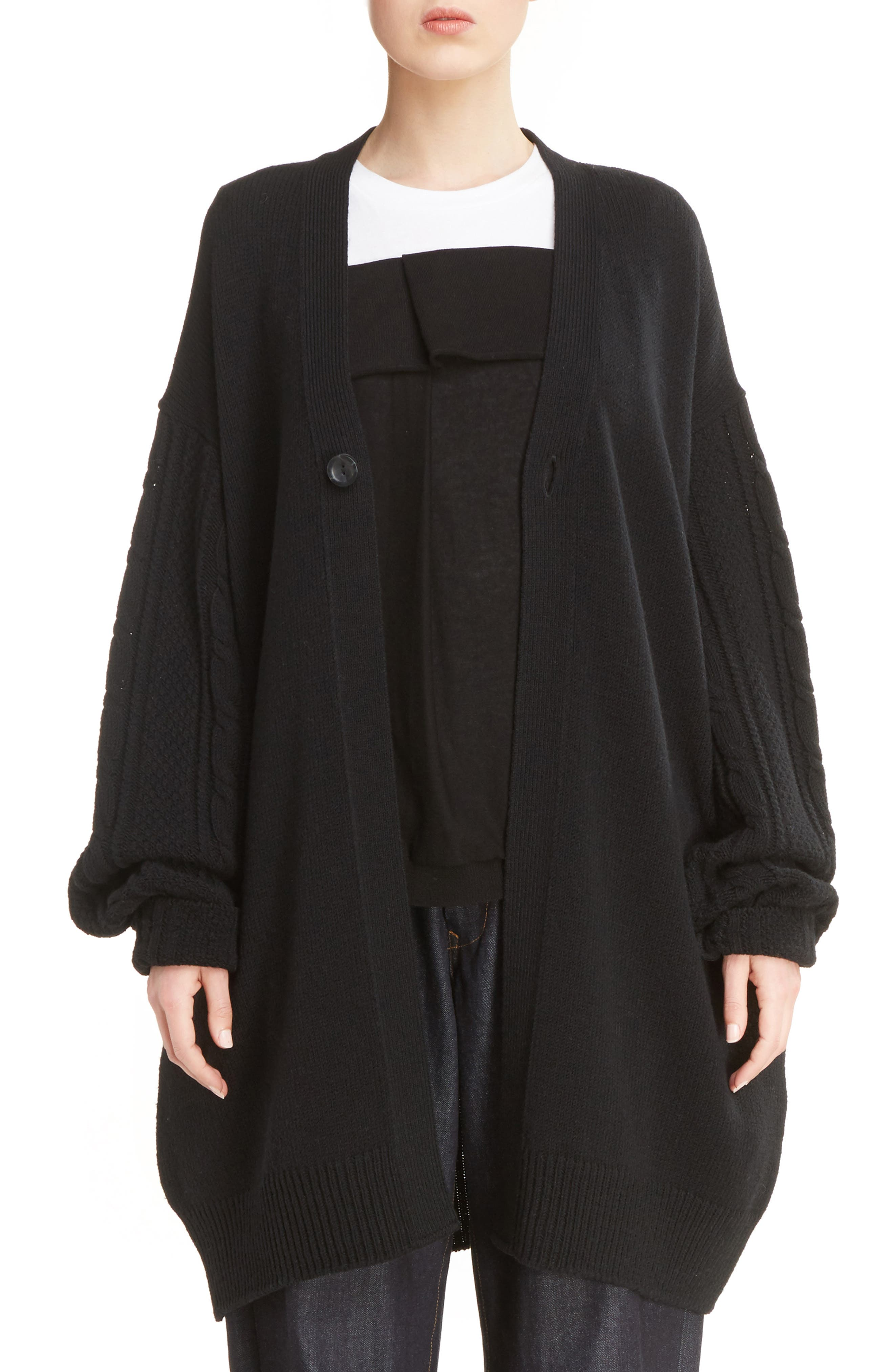 Alternate Image 1 Selected - Y's by Yohji Yamamoto Alan Button Cardigan