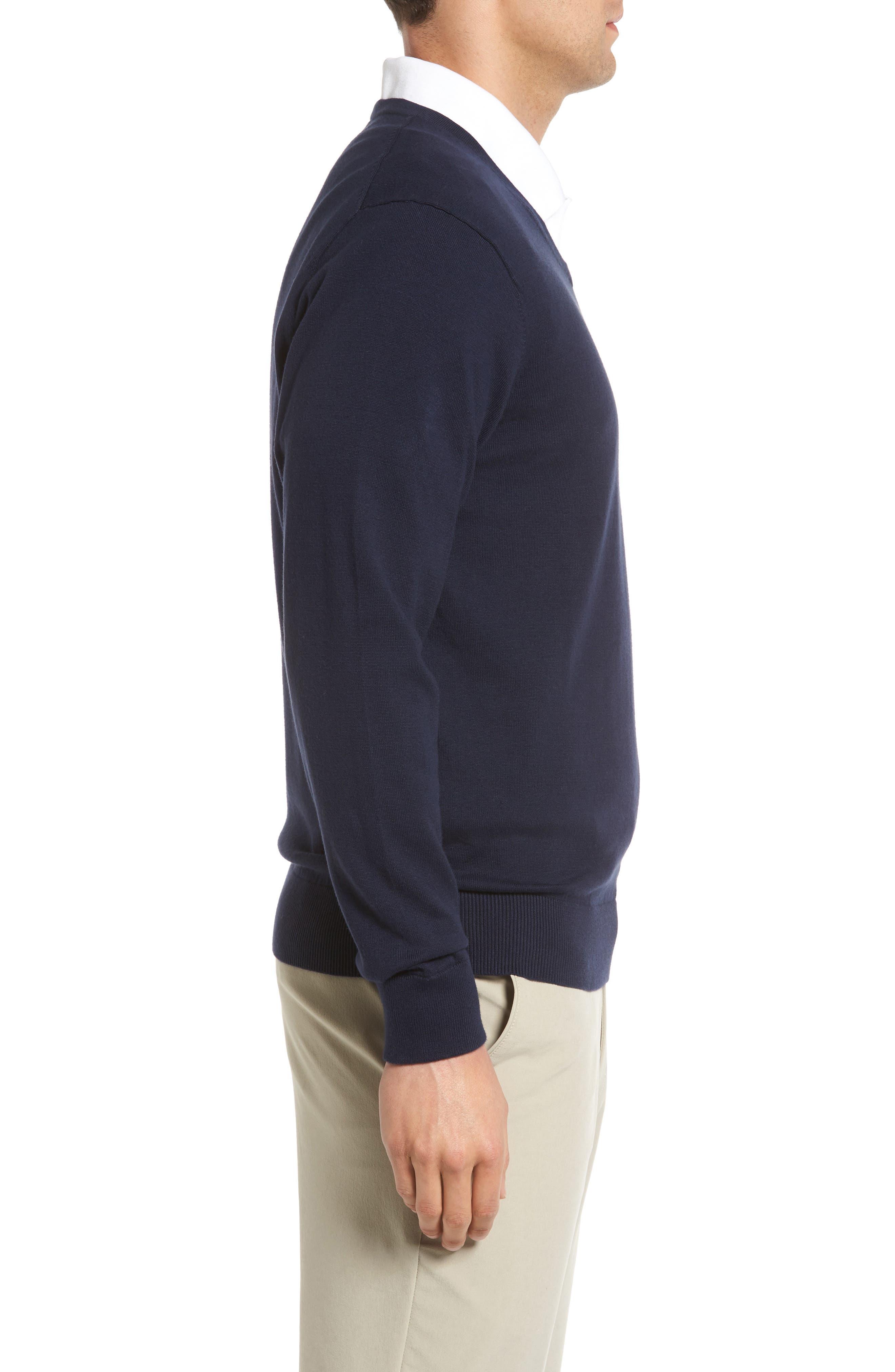 Alternate Image 3  - Cutter & Buck Lakemont V-Neck Sweater