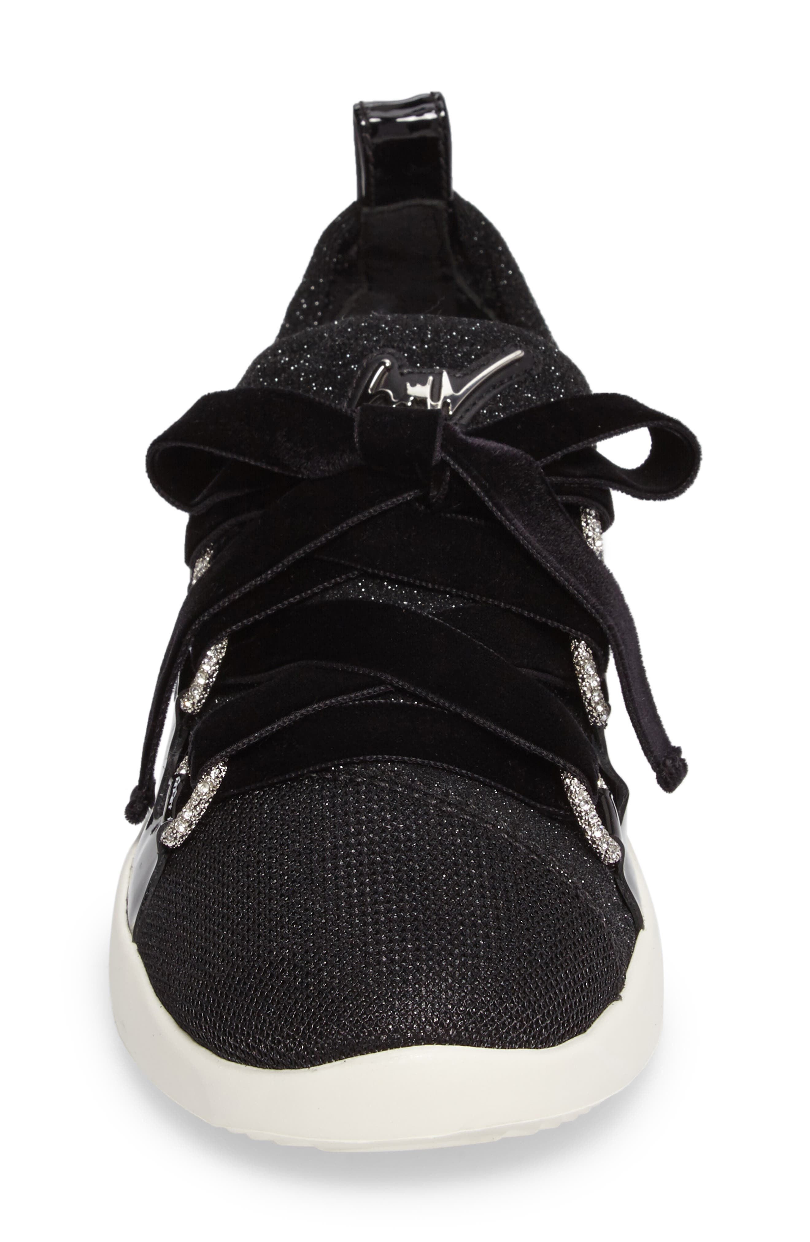 Alternate Image 3  - Giuseppe Zanotti Laurex Glitter Sneaker (Women)