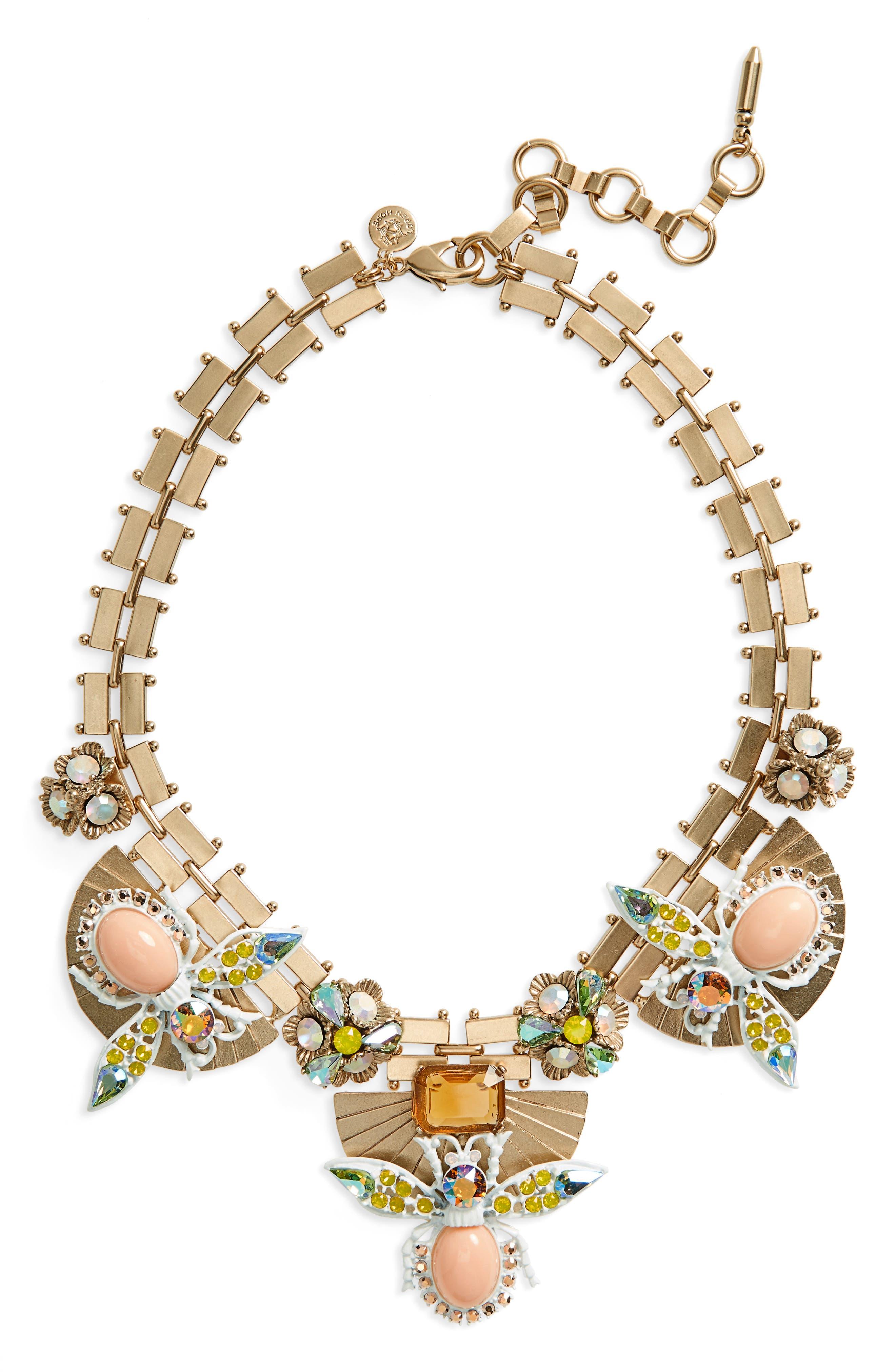 Loren Hope Flora Statement Necklace