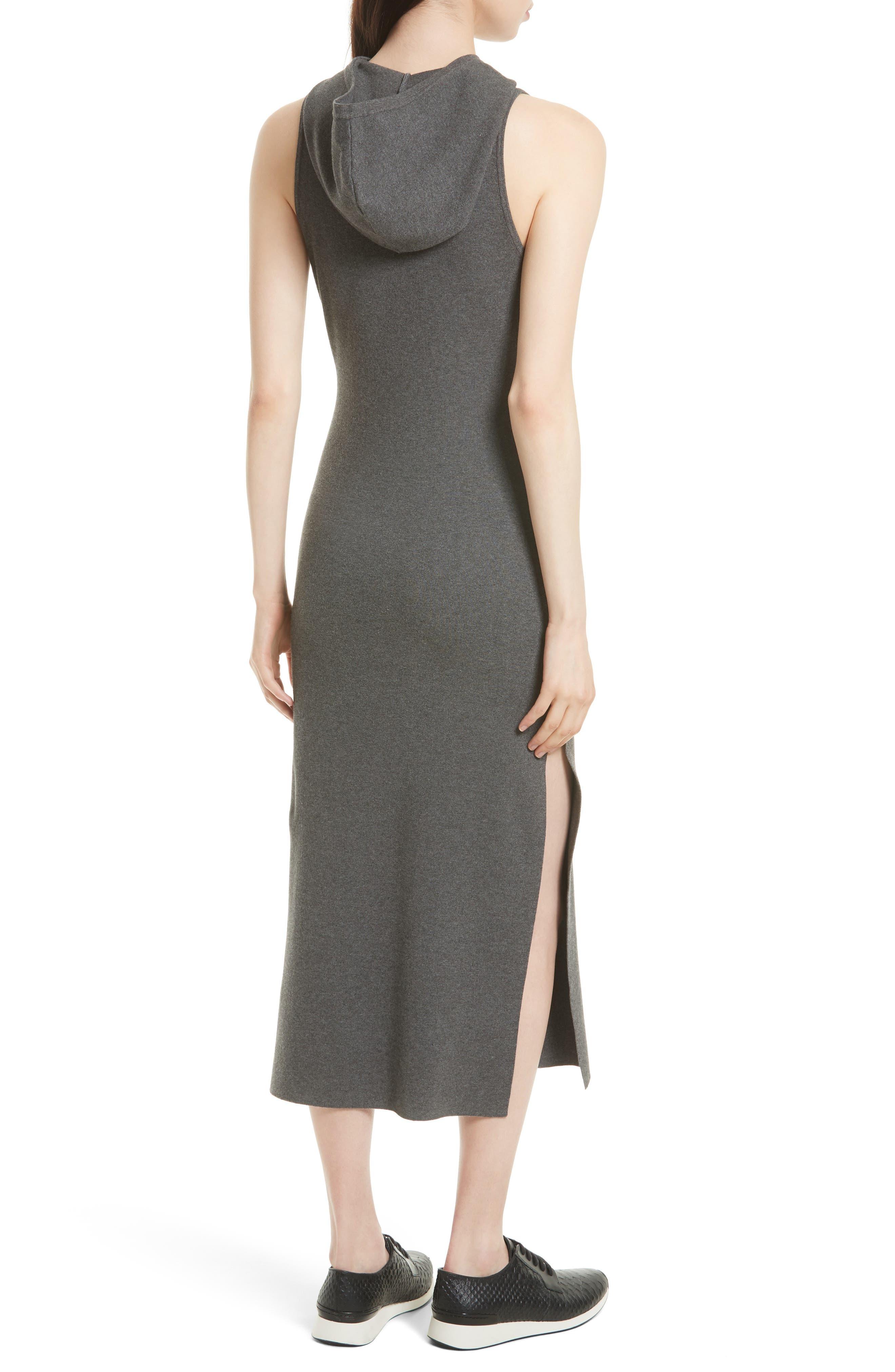 Alternate Image 2  - Milly Hooded Jersey Midi Dress