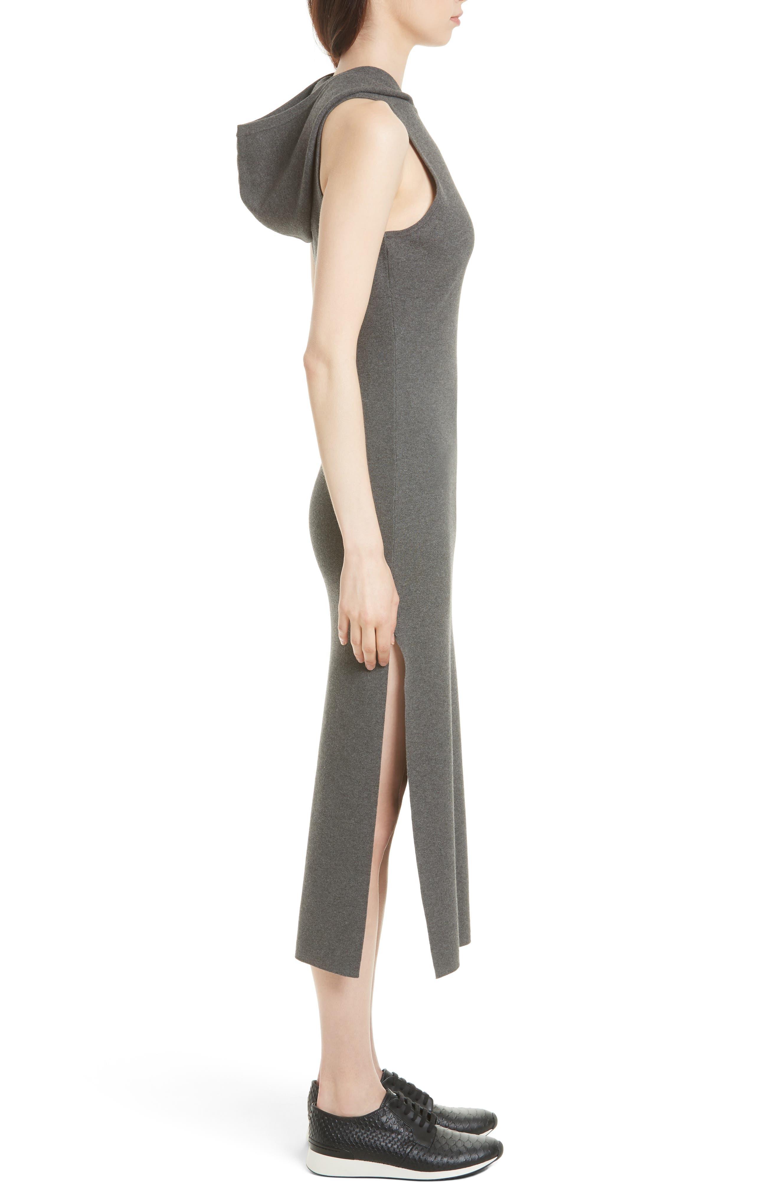 Alternate Image 3  - Milly Hooded Jersey Midi Dress