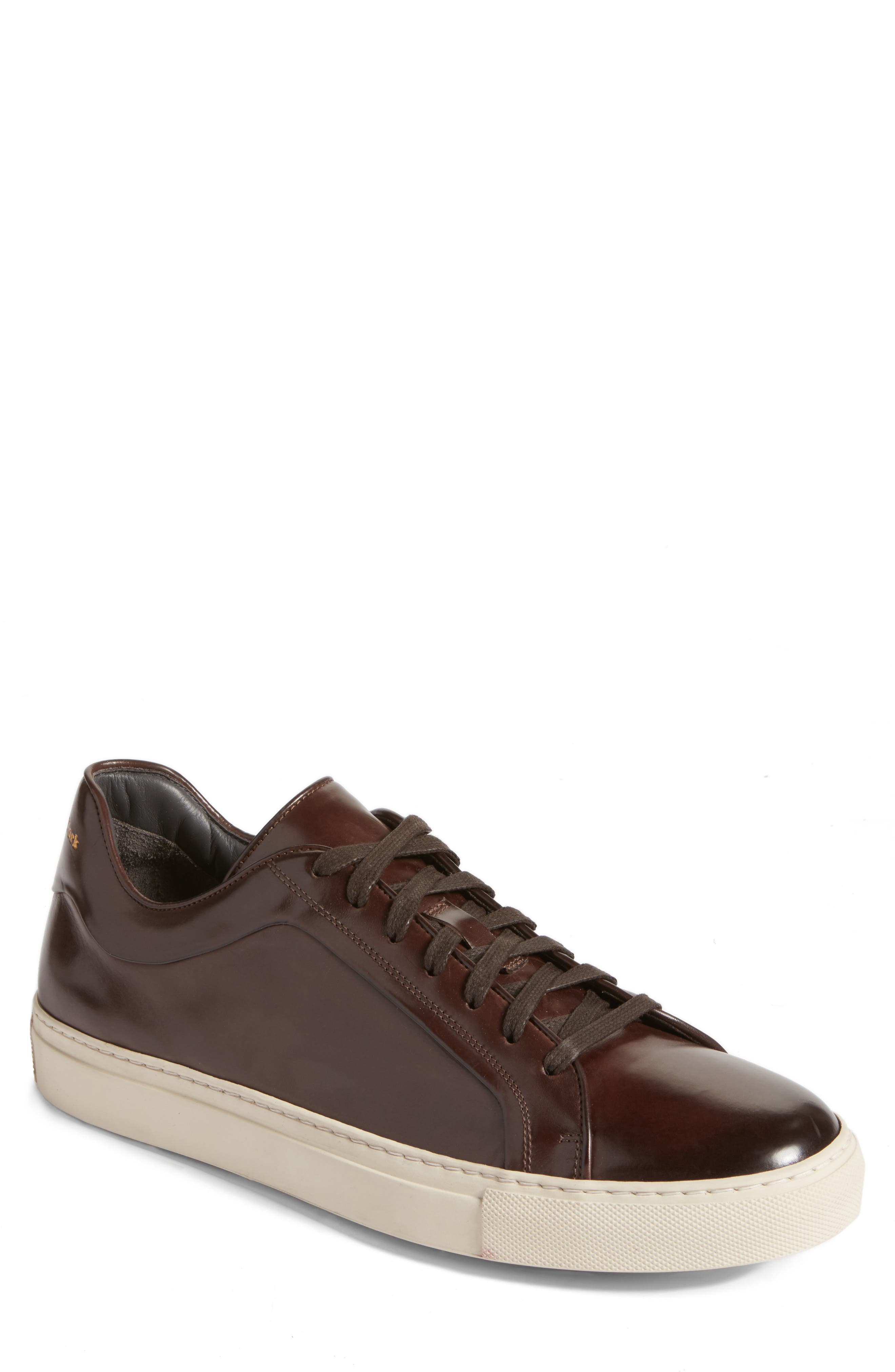 Marshall Sneaker,                         Main,                         color, Moro Leather