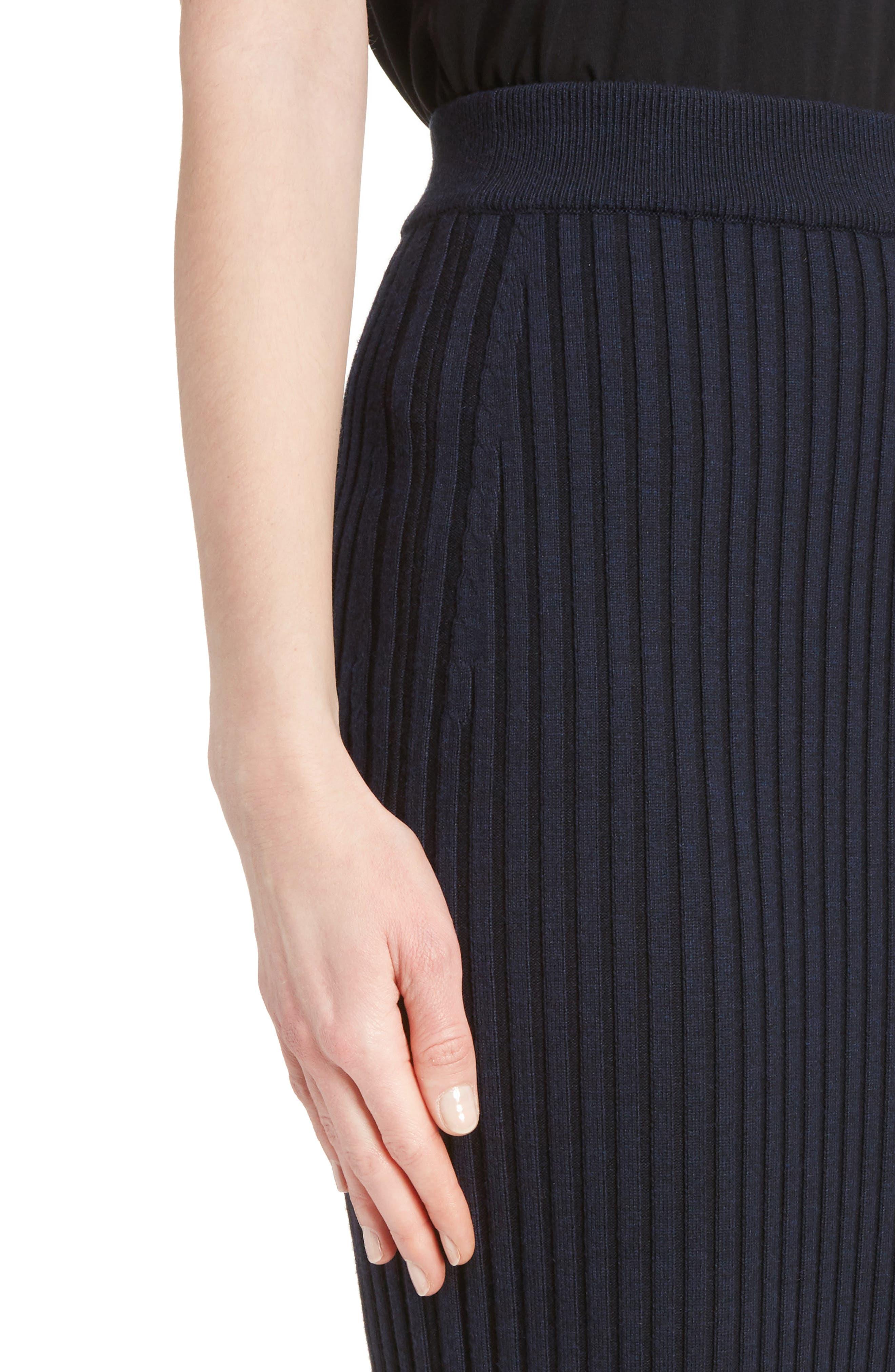 Alternate Image 5  - KENZO Body-Con Maxi Skirt