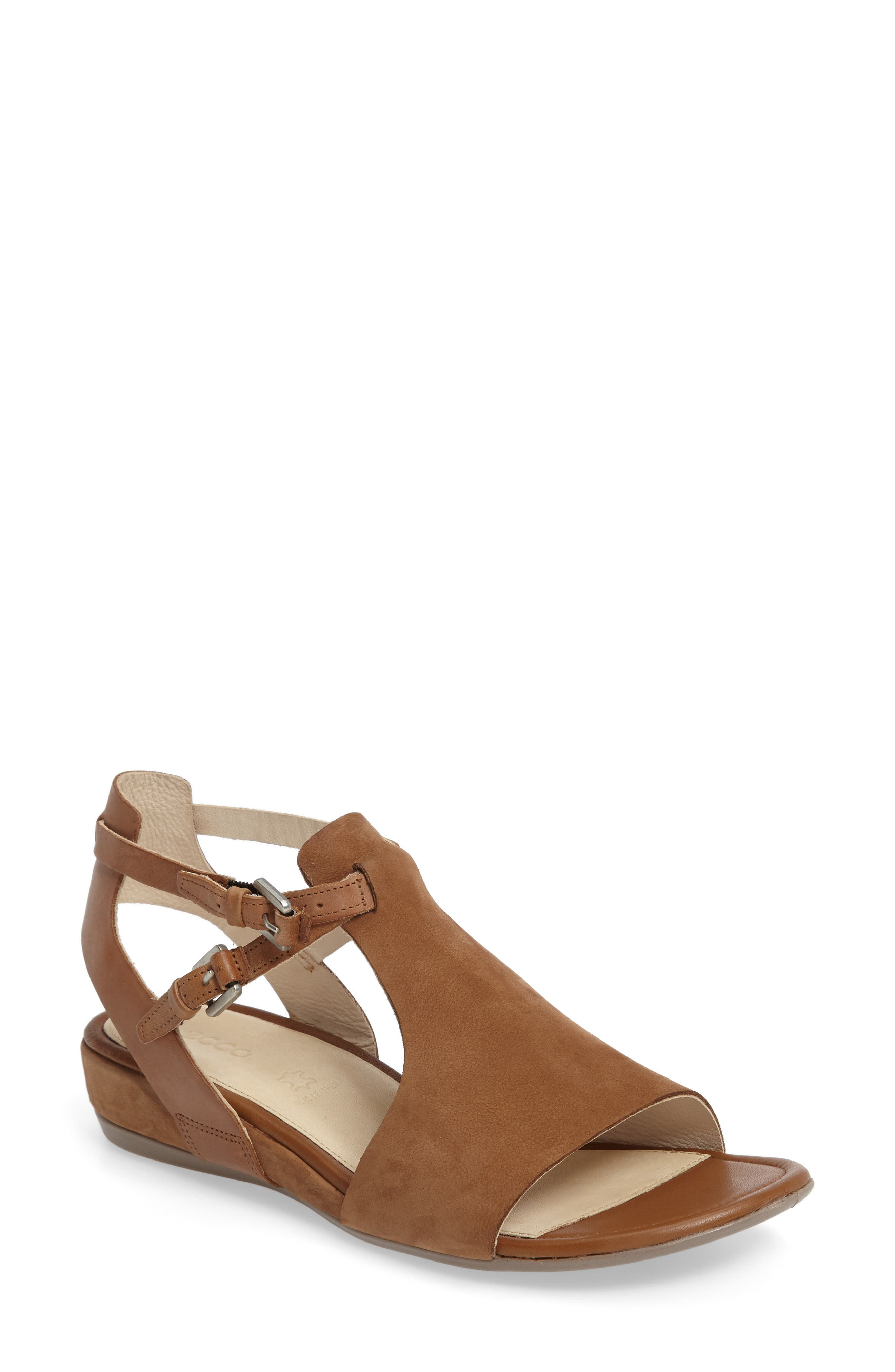 'Touch 25' Sandal,                             Main thumbnail 1, color,                             Camel Leather