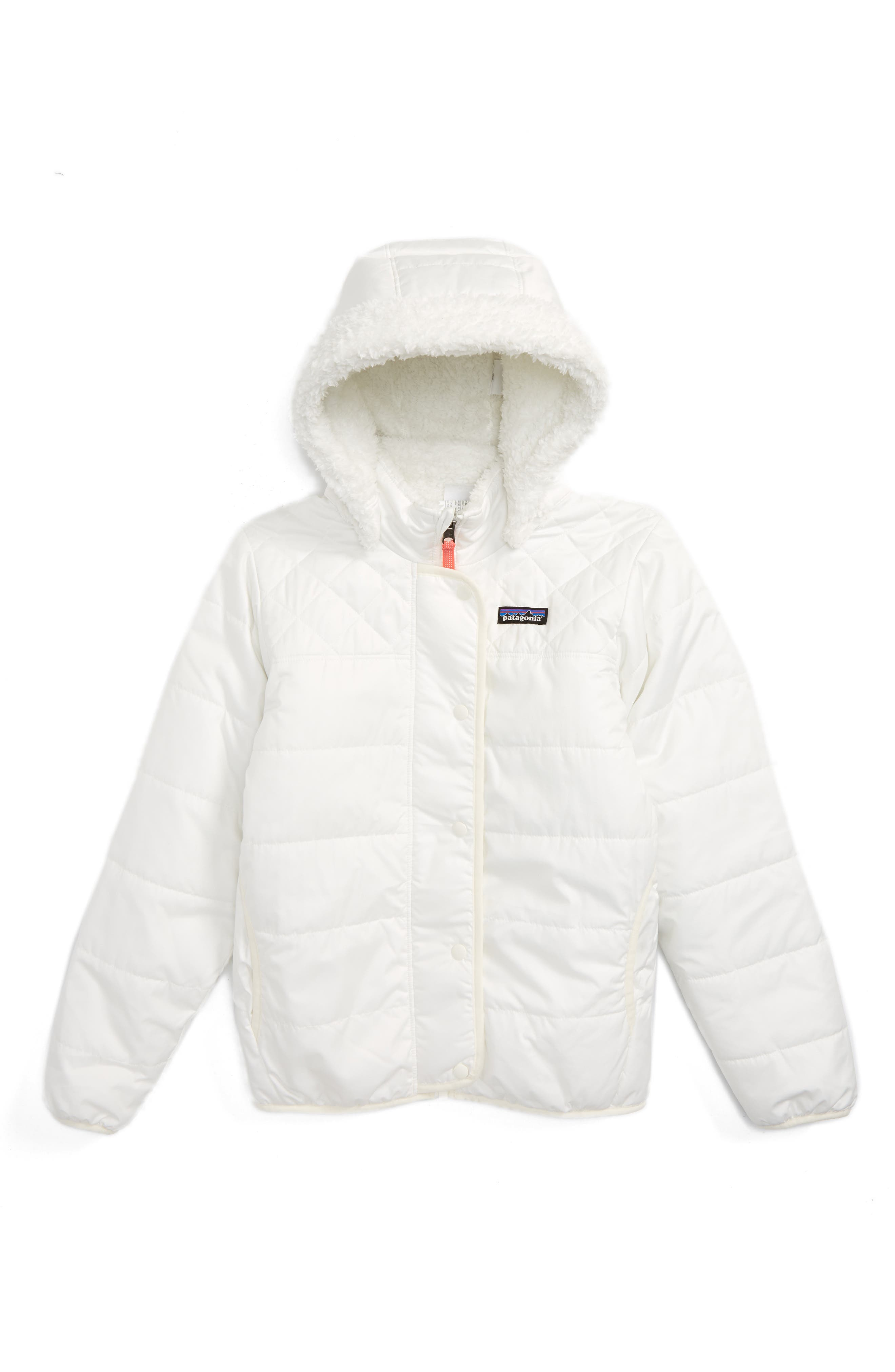 Dream Song Water Repellent Reversible Jacket,                         Main,                         color, Birch White