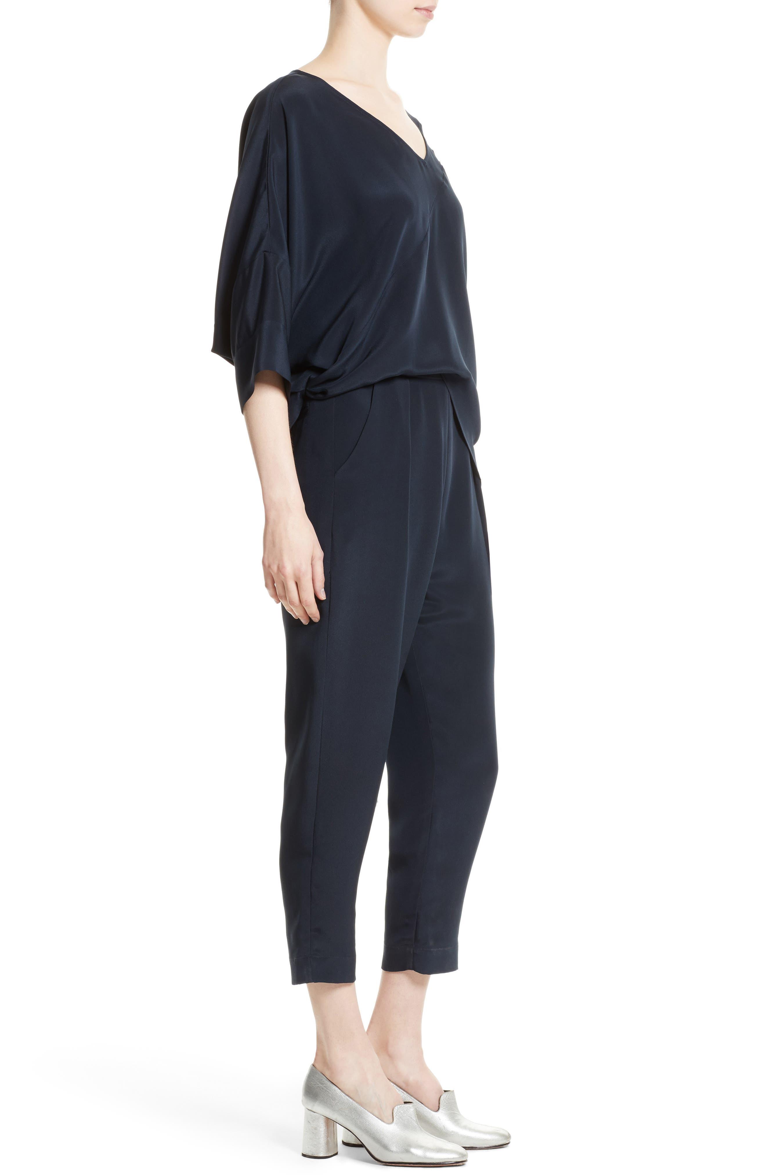 Alternate Image 3  - Rachel Comey Grateful Silk Crepe Jumpsuit