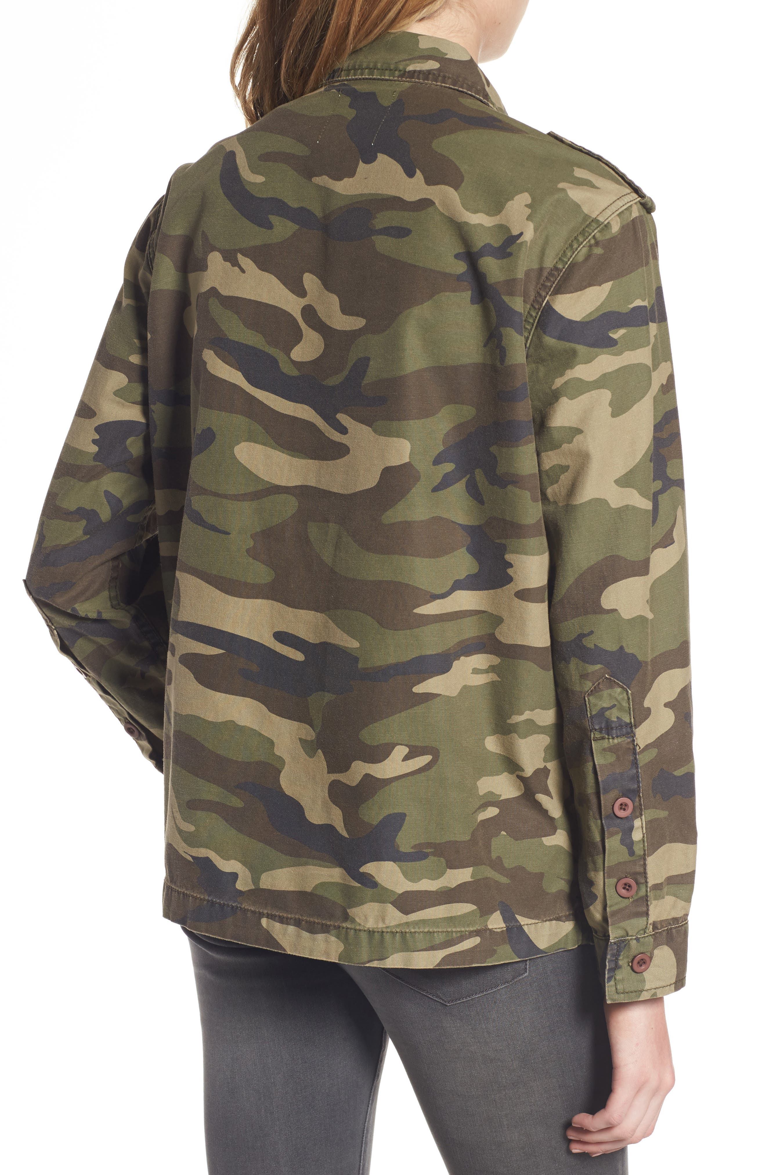 Alternate Image 2  - Thread & Supply Barton Camo Print Jacket
