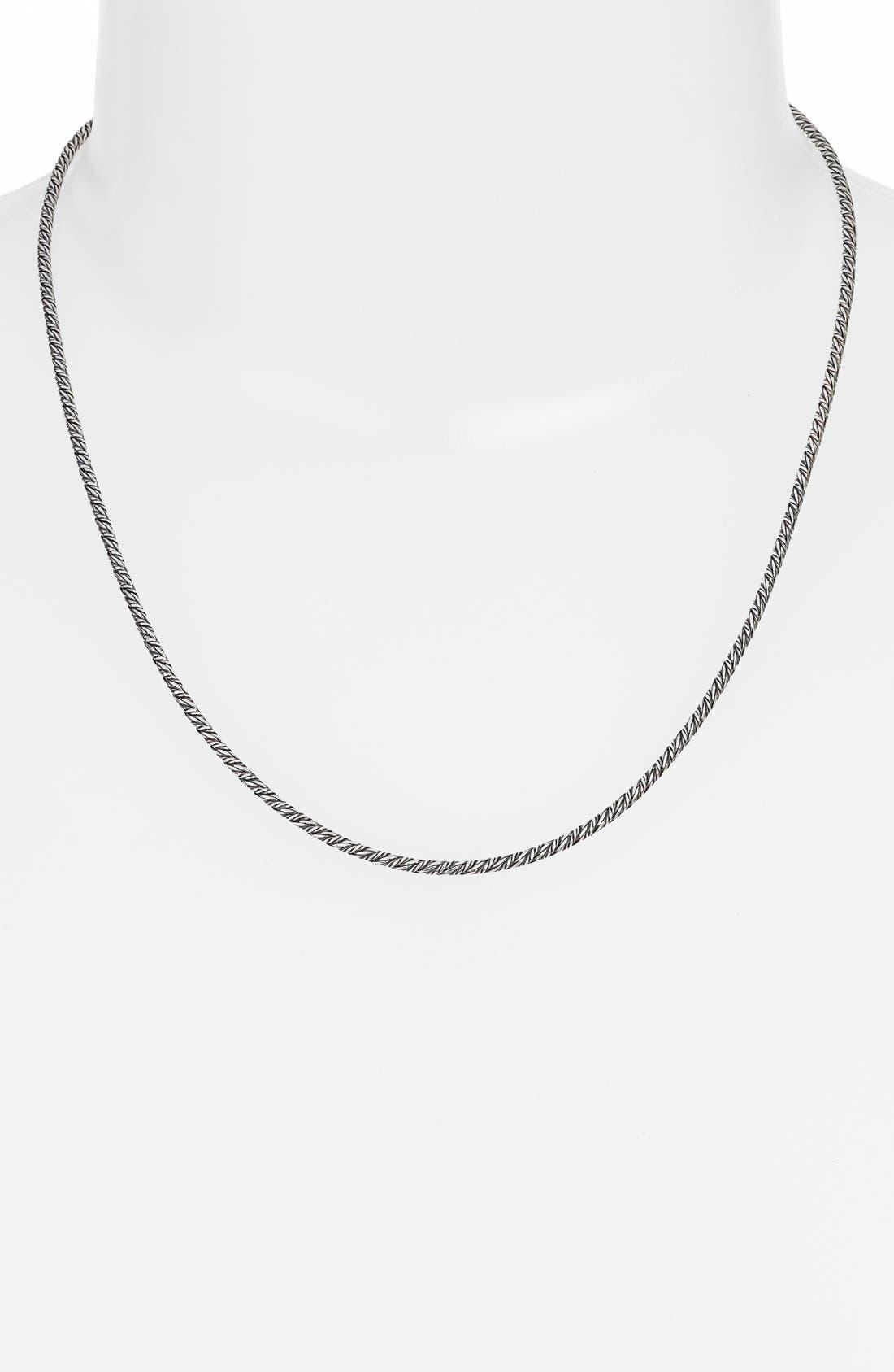 'Classics' Briolette Chain,                         Main,                         color, Silver