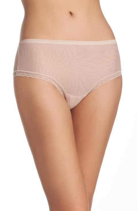 f8530a6c0016 On Gossamer Modern Mesh Panties