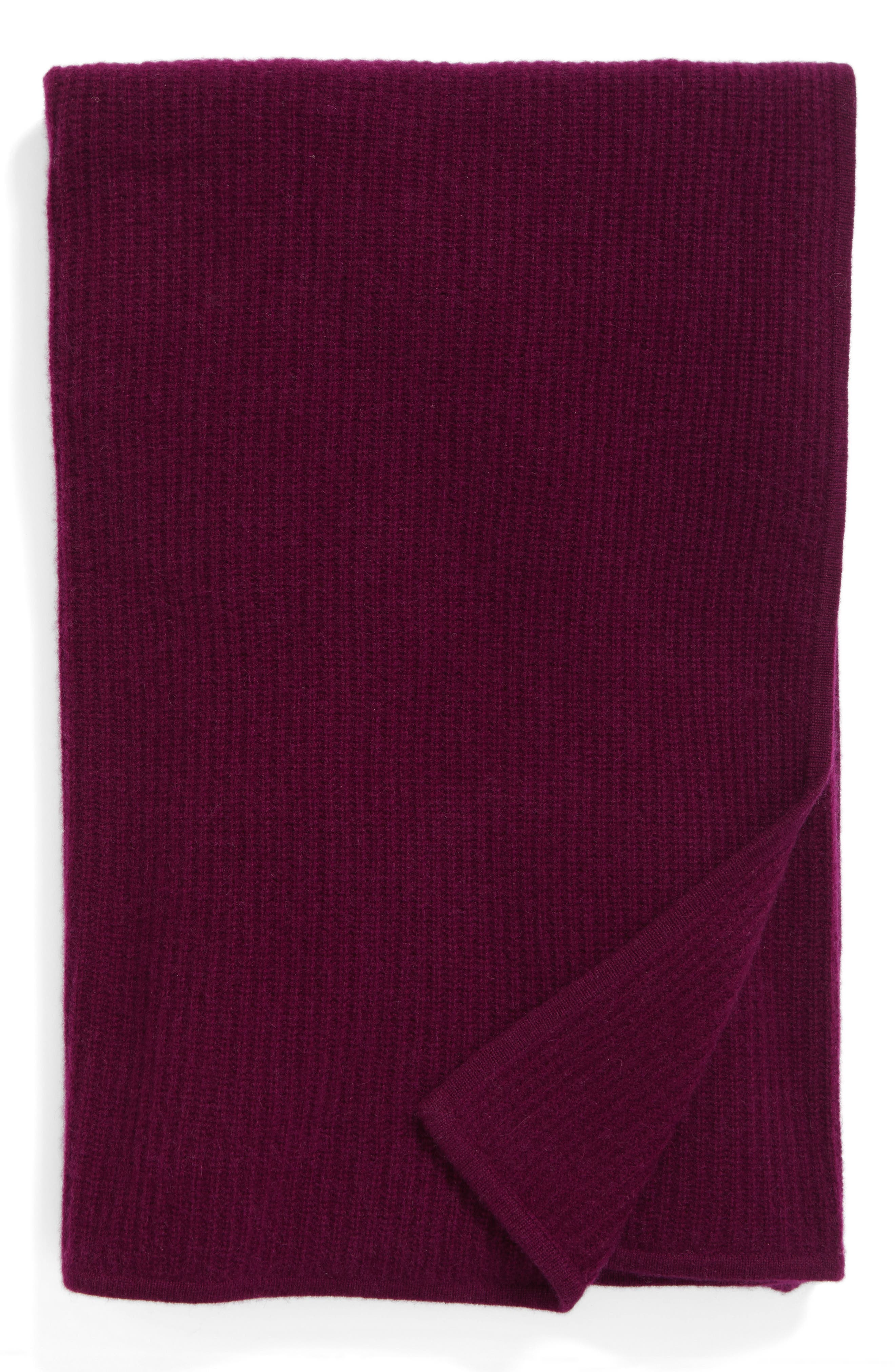 Main Image - Nordstrom at Home Lattice Cashmere Throw Blanket